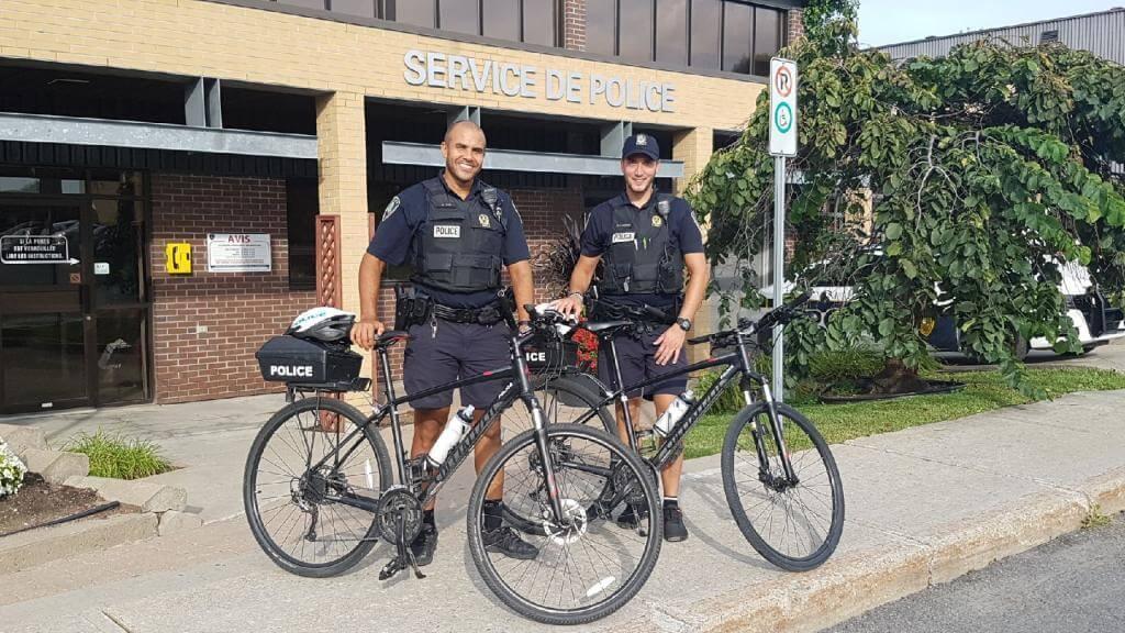 escouade vélo police L'Assomption