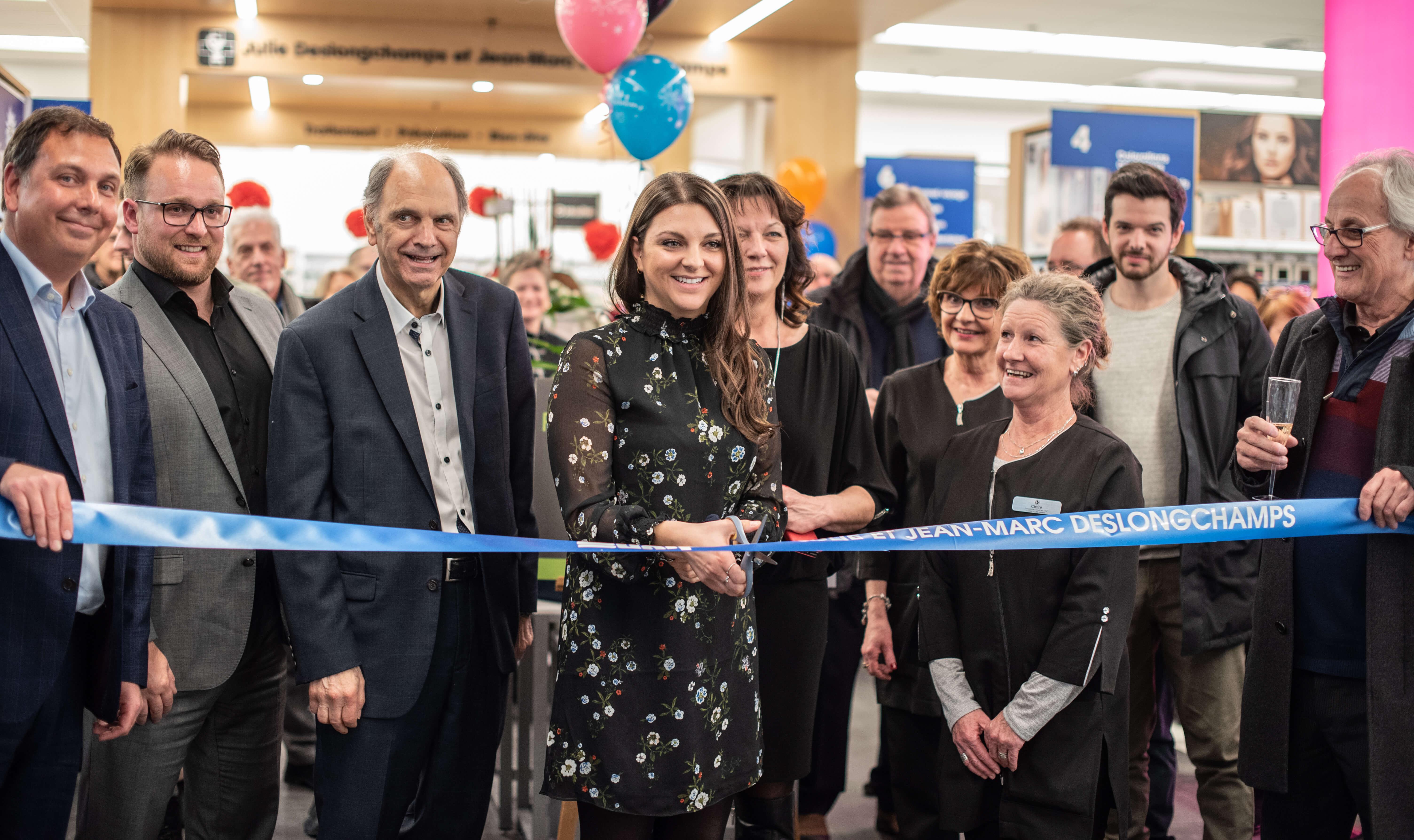 Inauguration pharmacie Deslongchamps