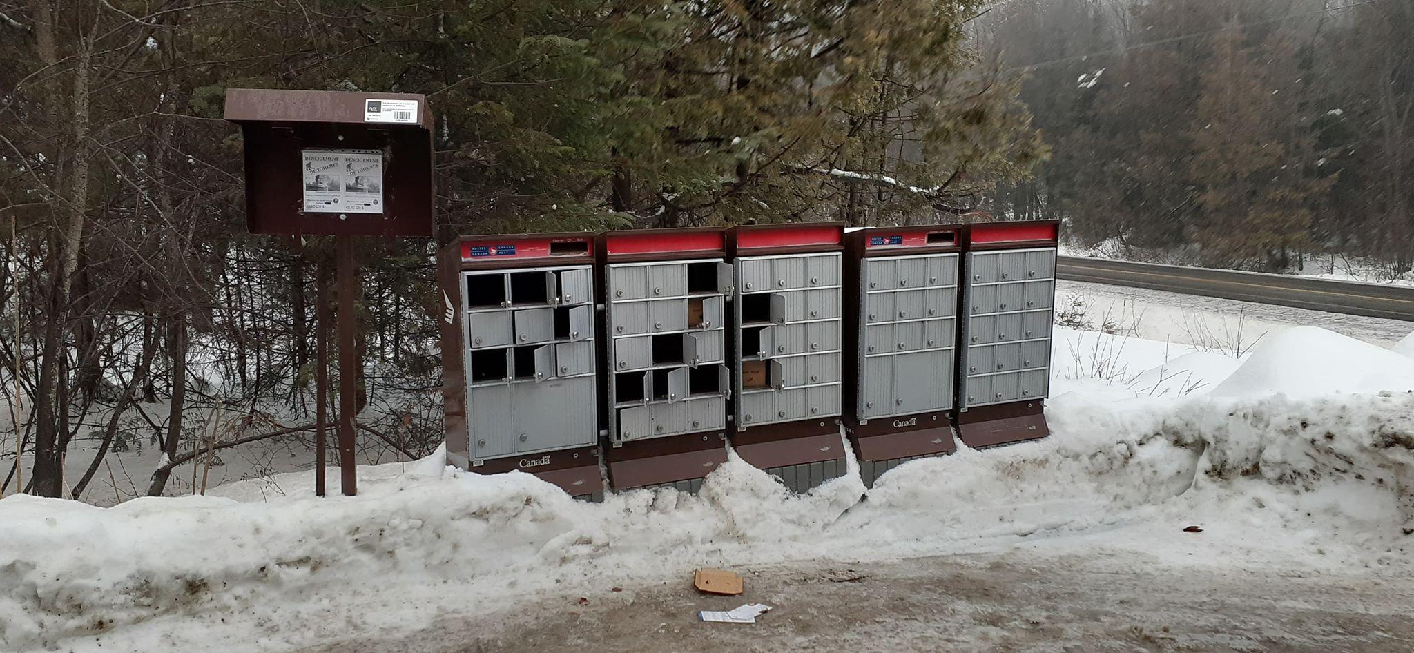 Boîtes postales communautaires