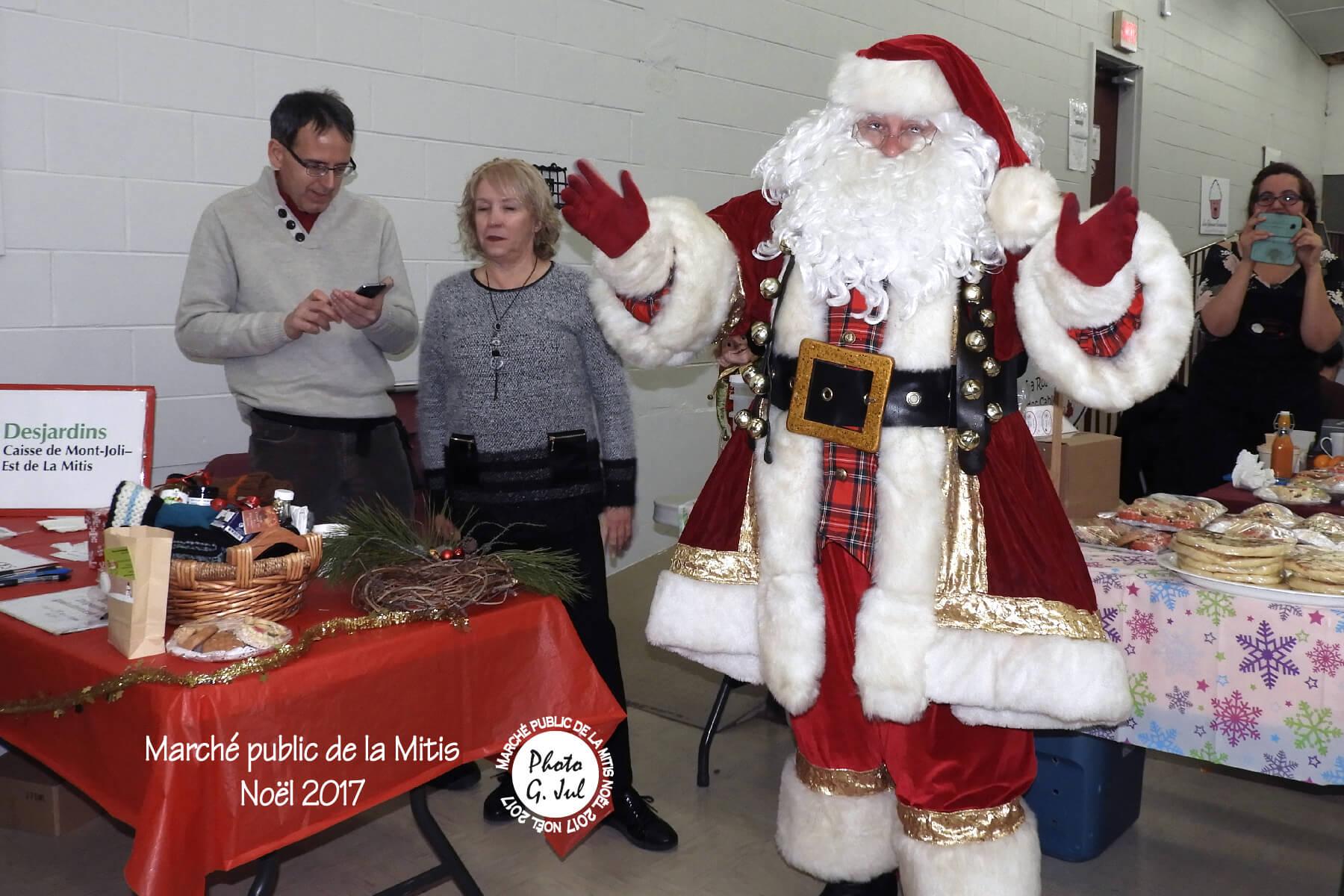 Marché de Noël Mitis