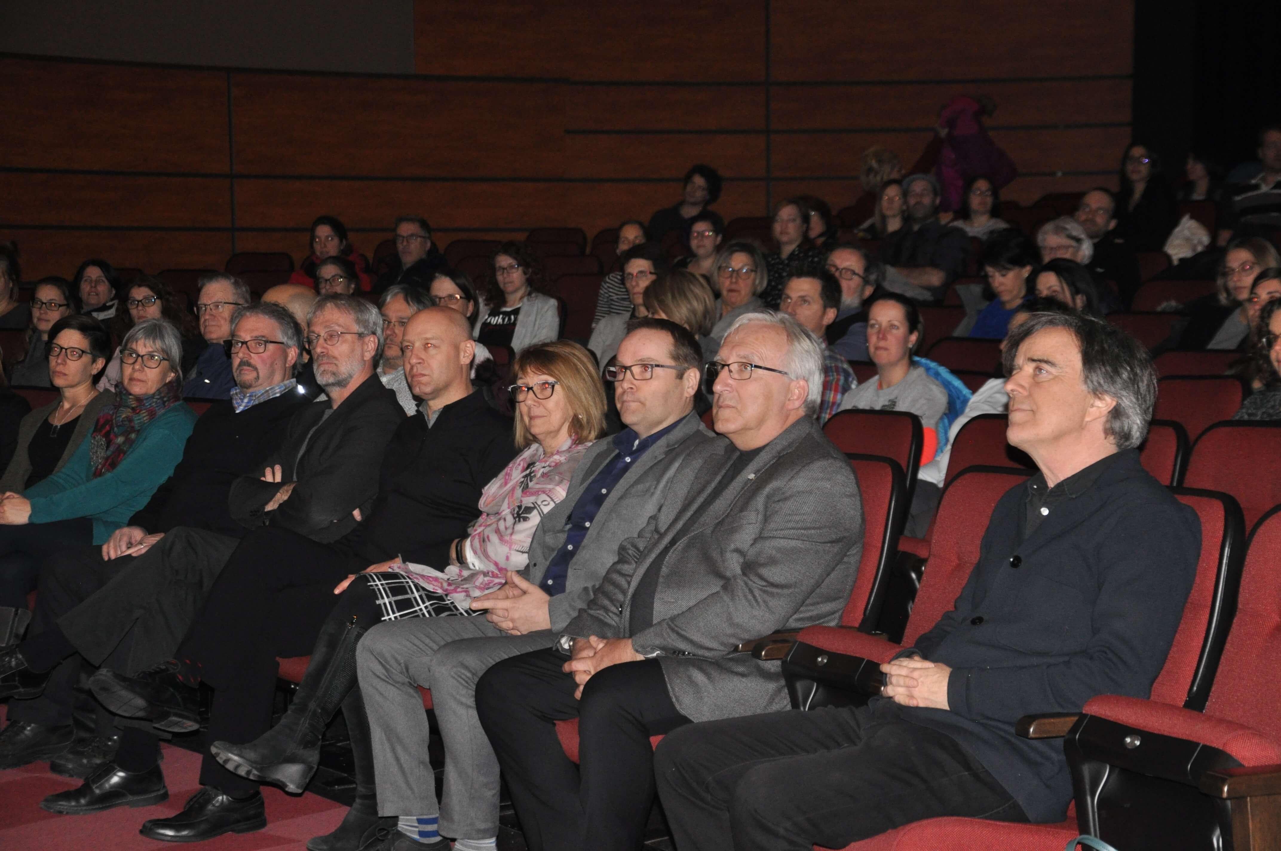 Entre 130 et 150 personnes ont assisté à la première assemblée de cuisine du LAB-école à Rimouski.