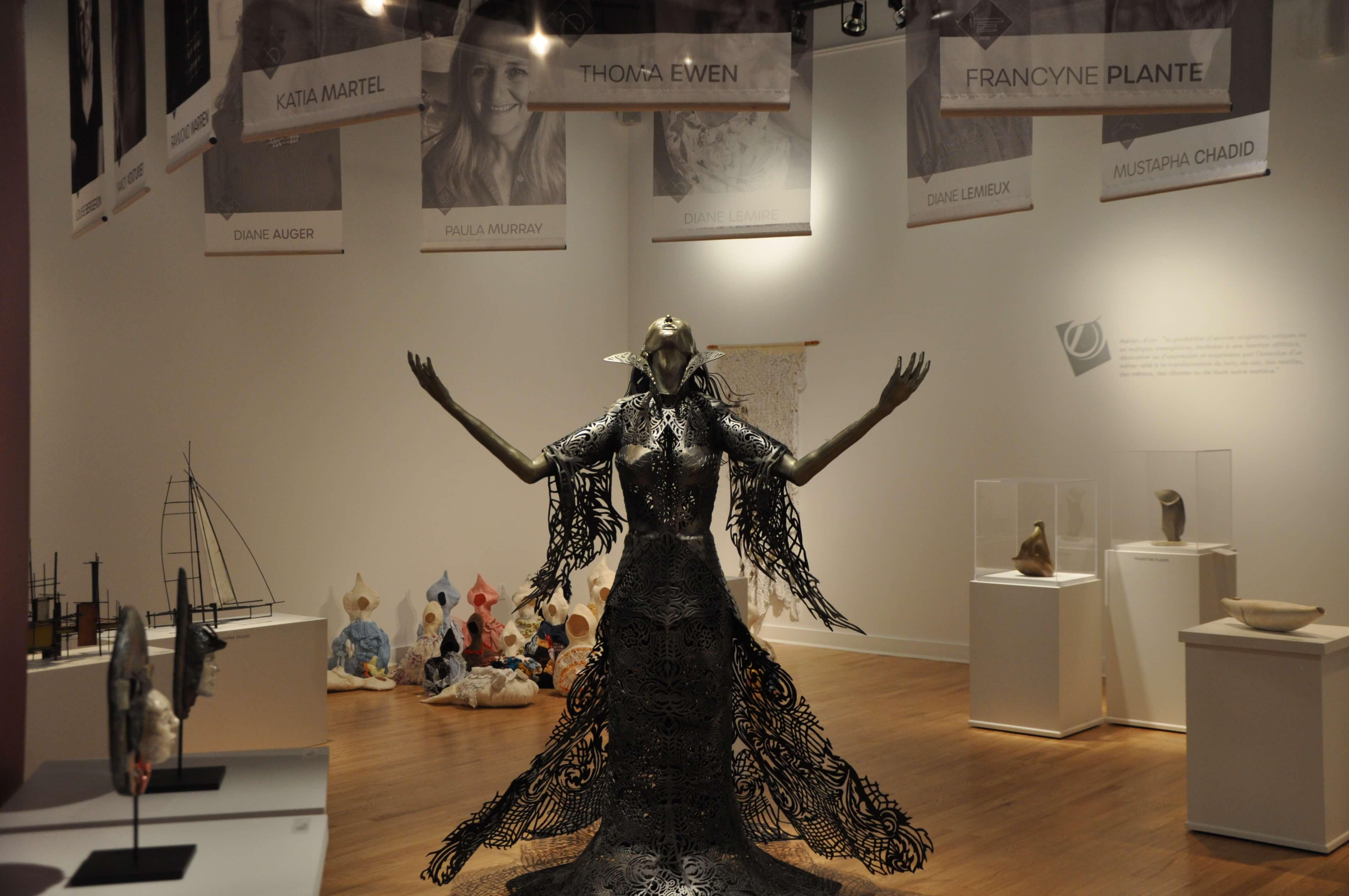 Triennale Métiers d'art Christel Bergeron