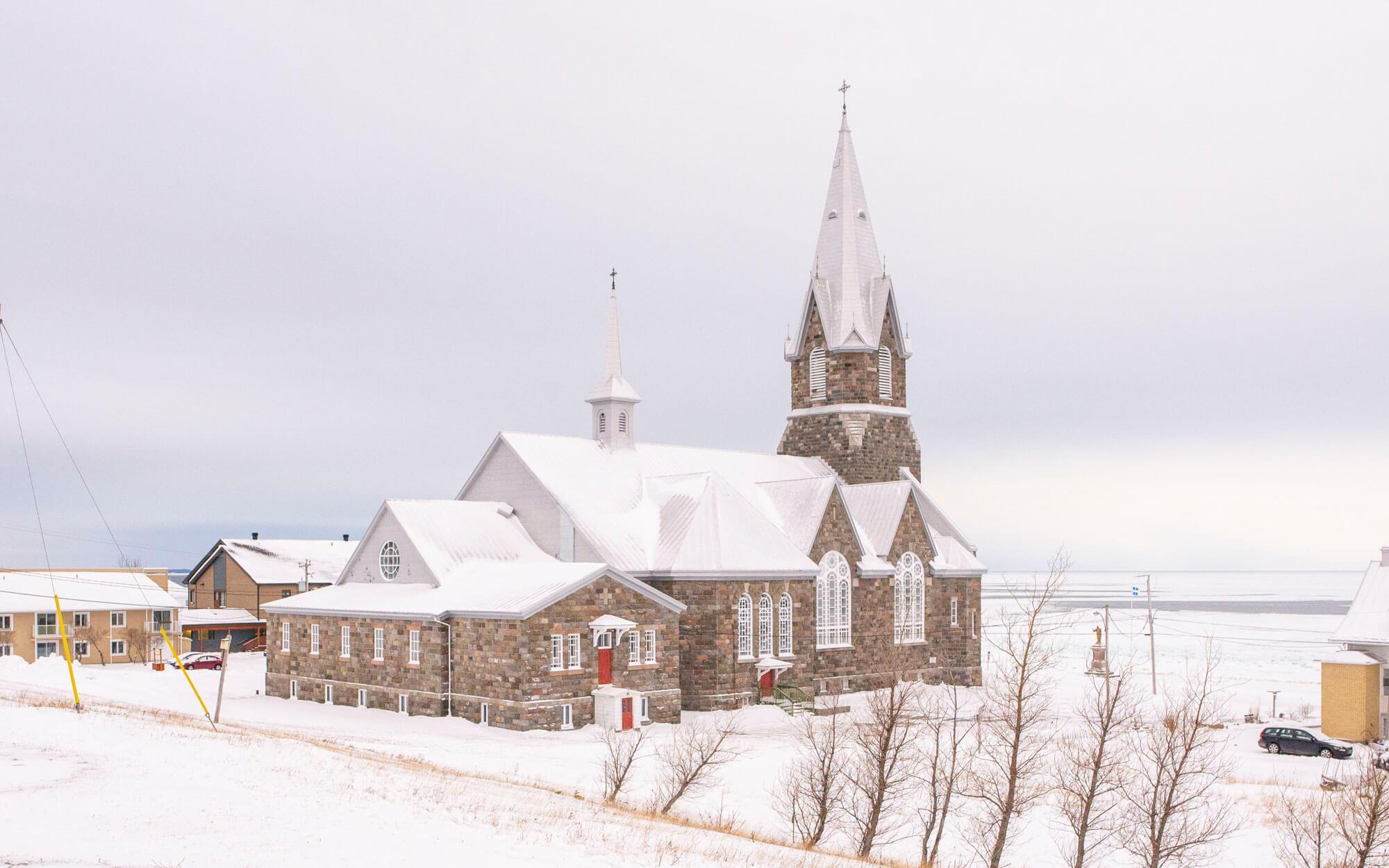 Baie-des-Sables église