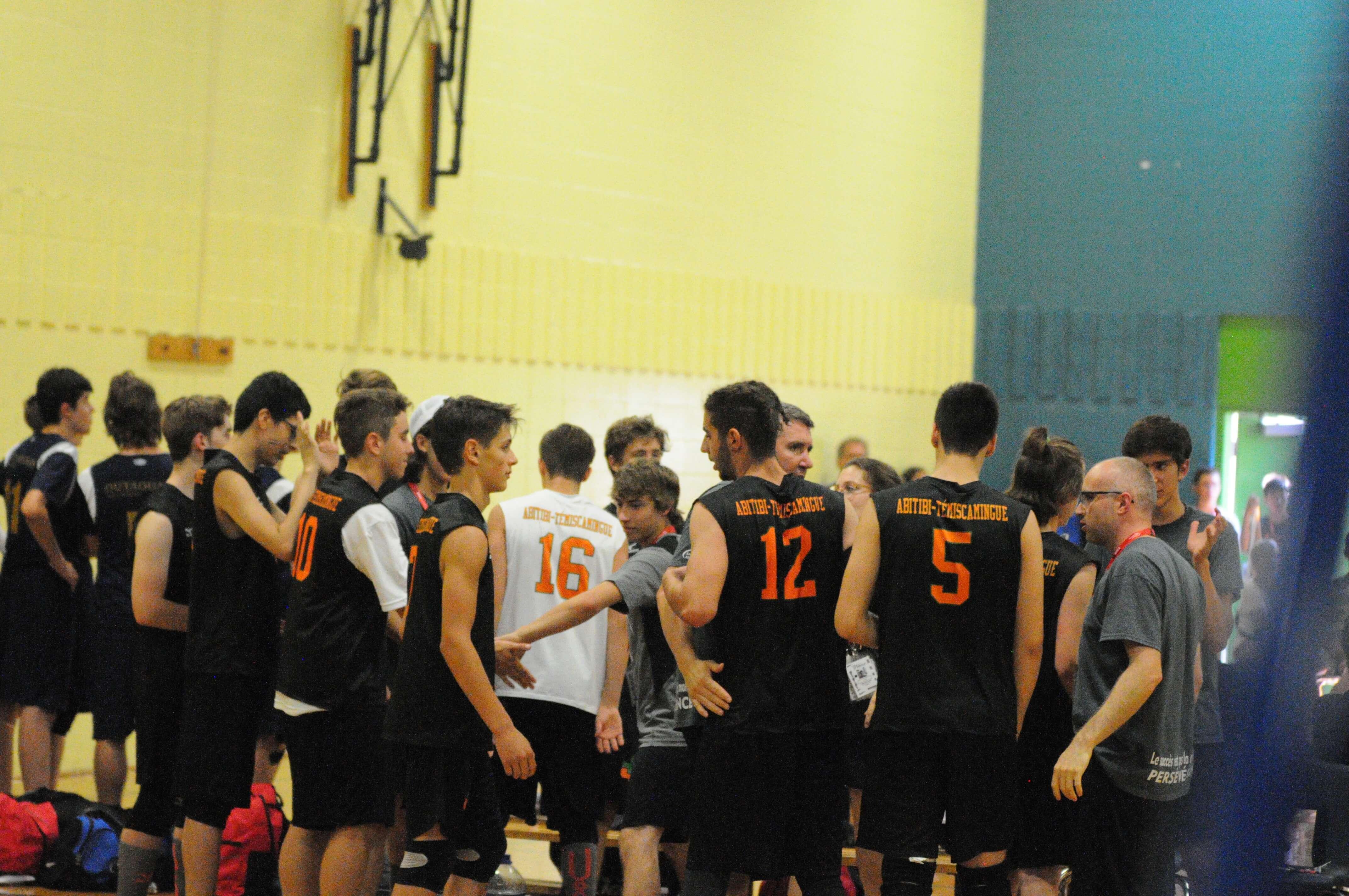 Jeux du Québec - Volley-ball masculin