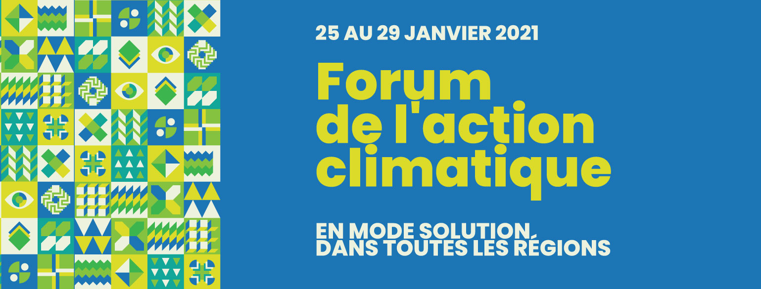 Forum national de l'action climatique