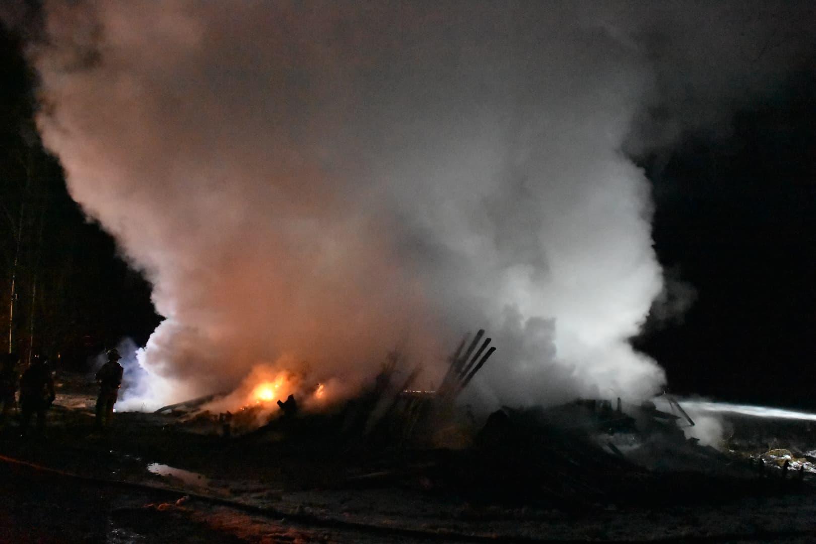 Incendie Avenue de l'Horizon Sainte-Julienne