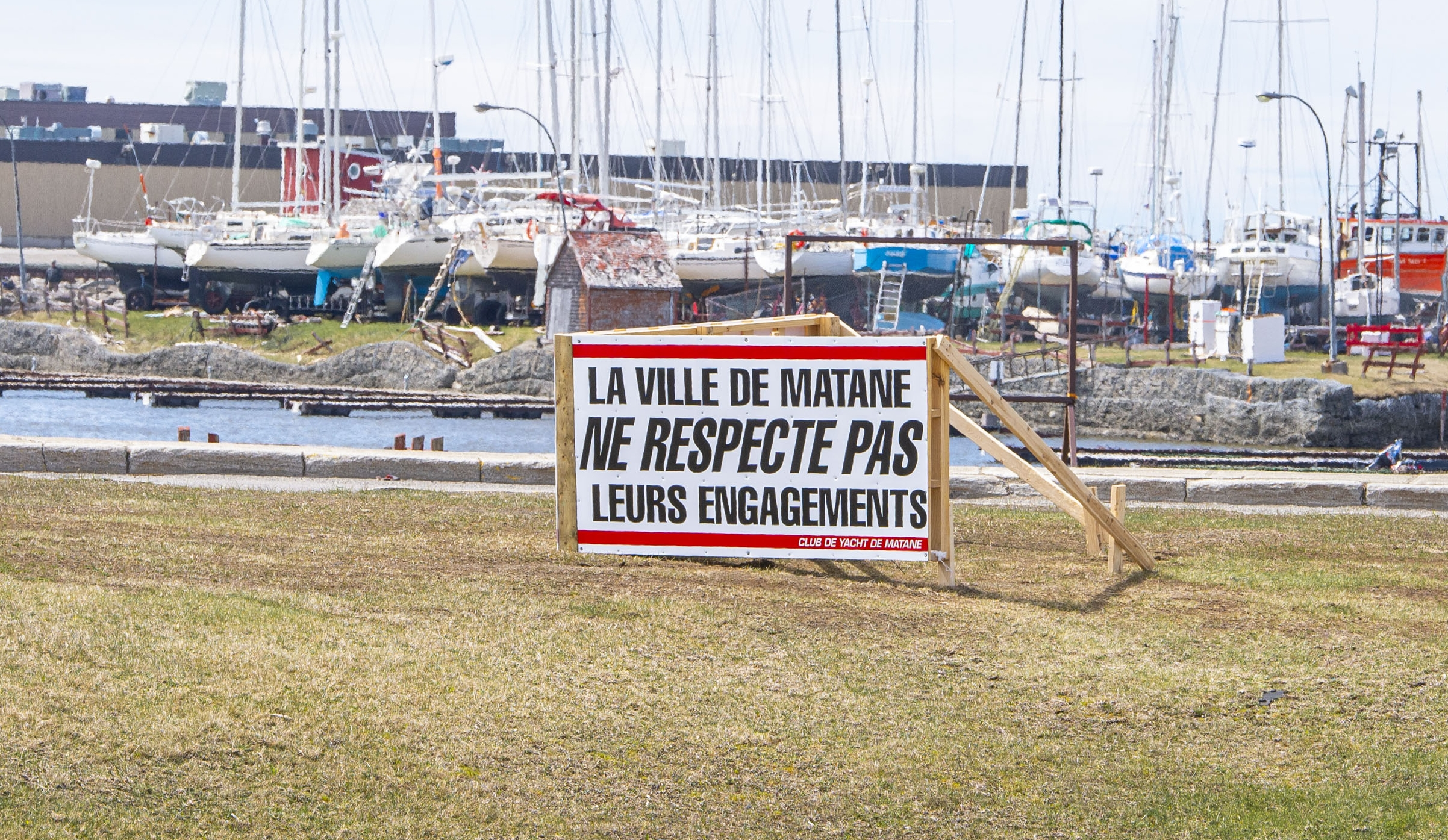 Marina Matane club de yacht
