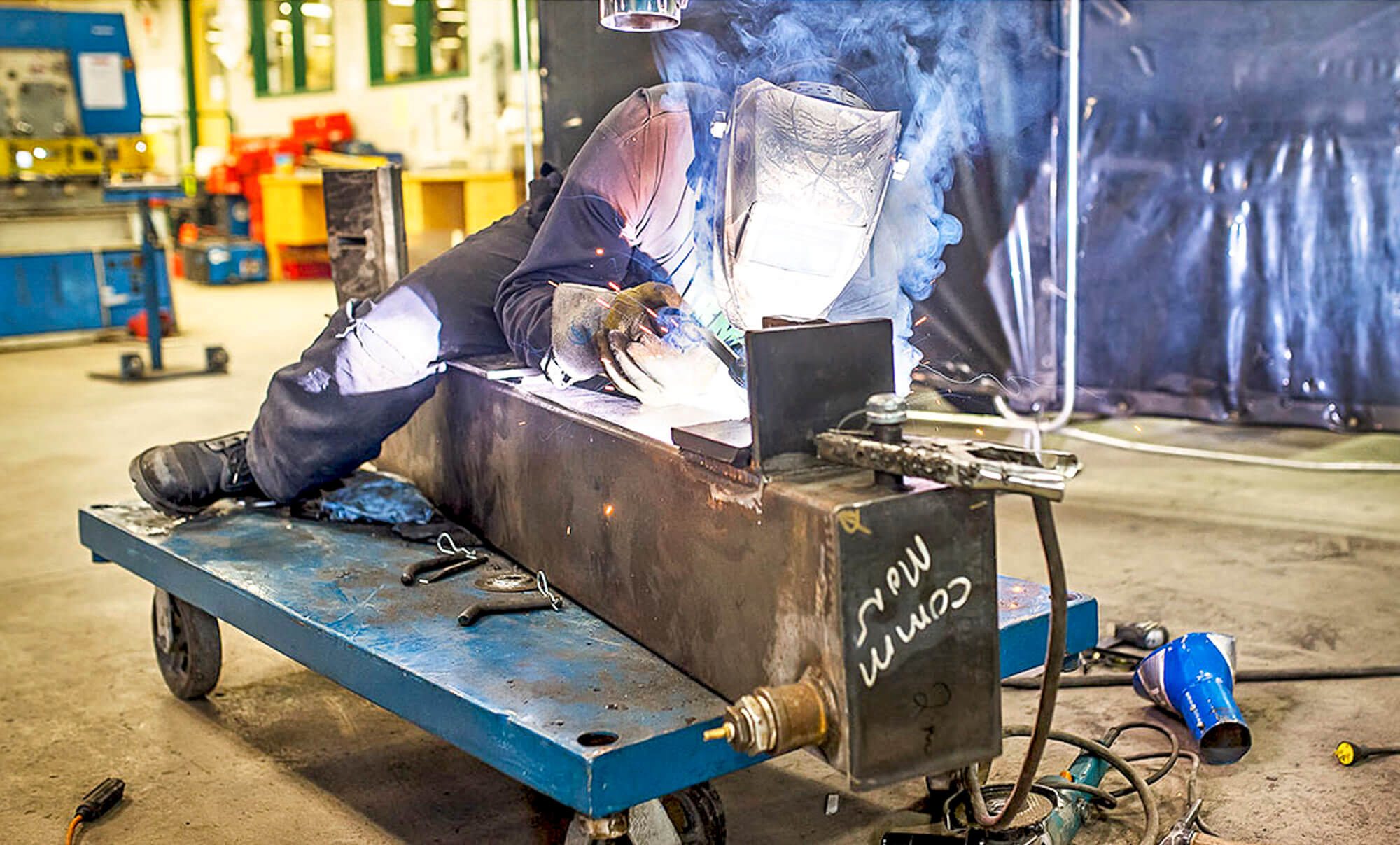 Soudage centre de formation professionnelle Matane CFPRO Matanie travailleurs pénurie de main-d'oeuvre