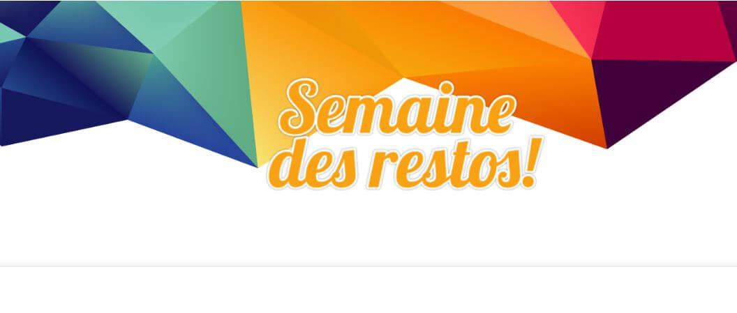 Semaine des restos - Fondation du CHRR.