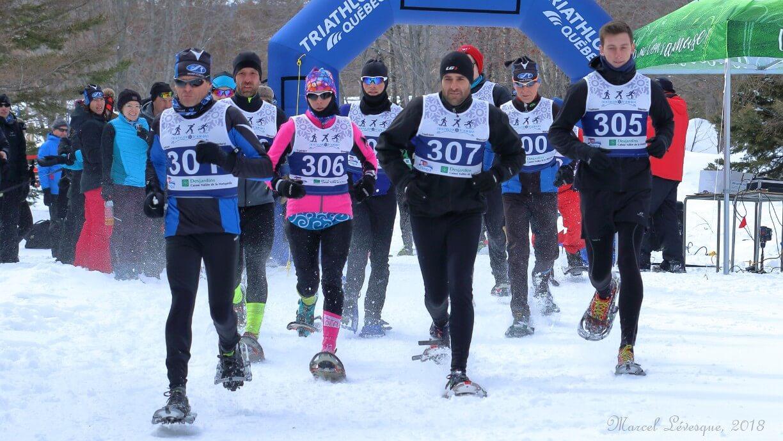 Triathlon hiver Amqui