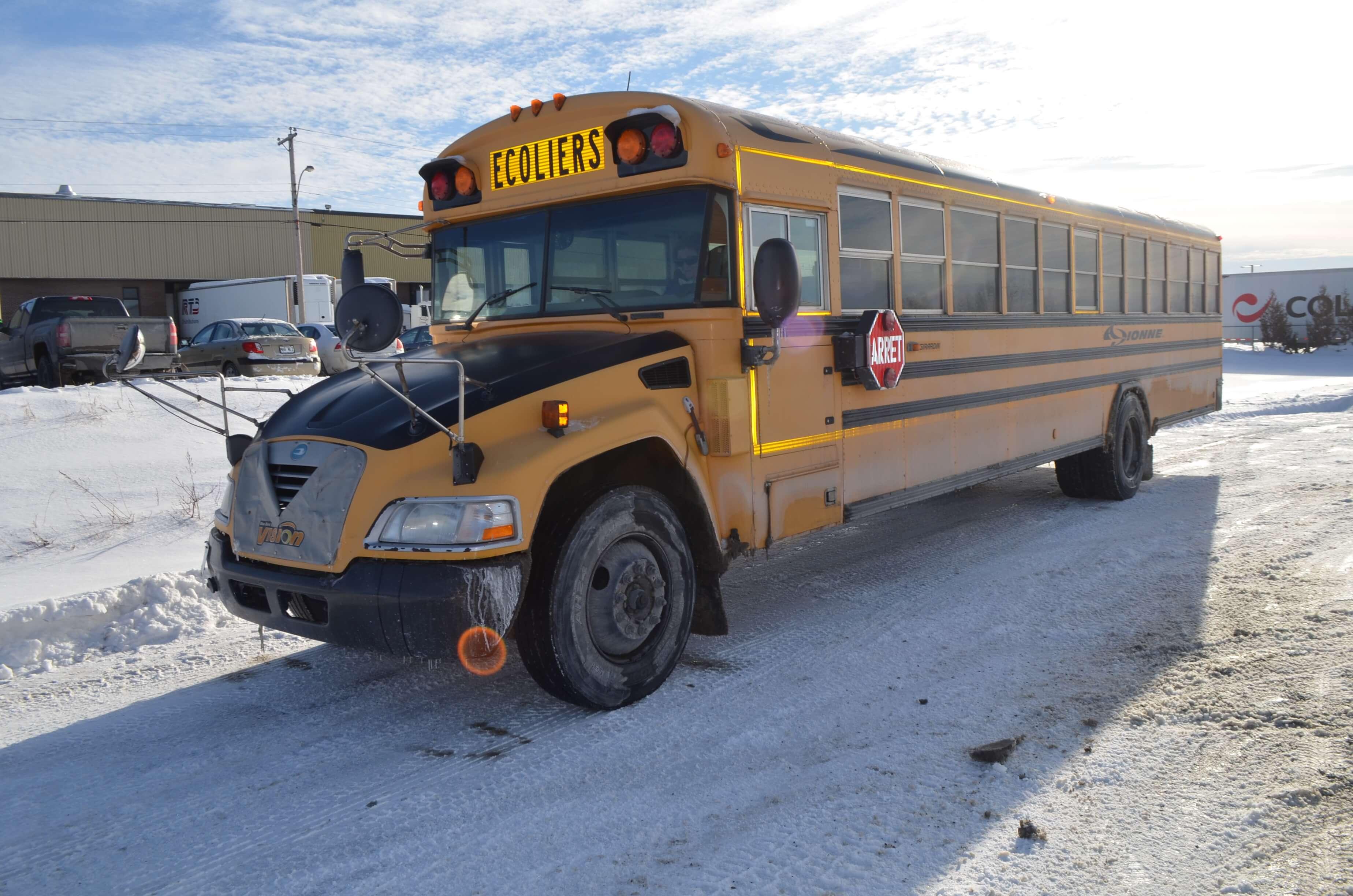Autobus scolaire- Semaine de prévention 2019