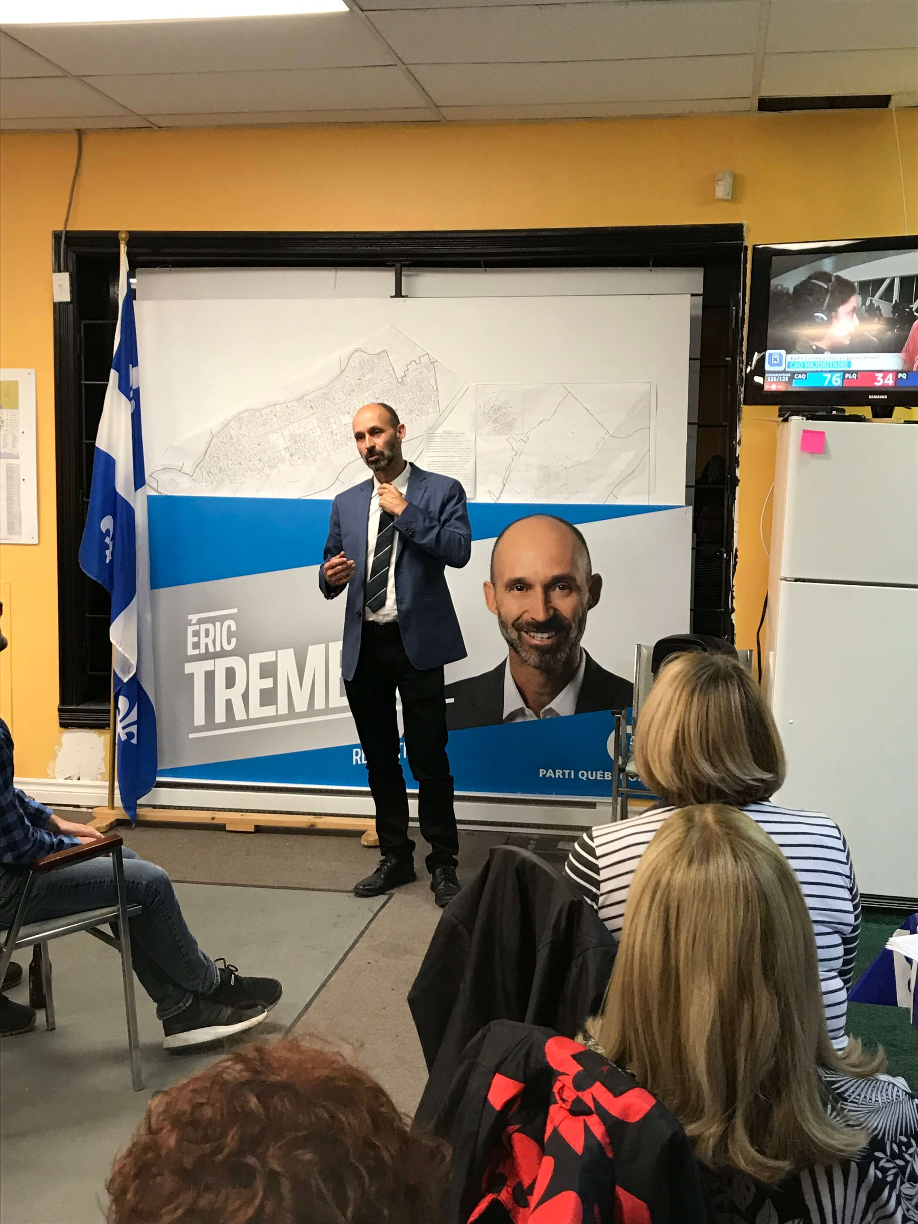 Éric Tremblay PQ élections
