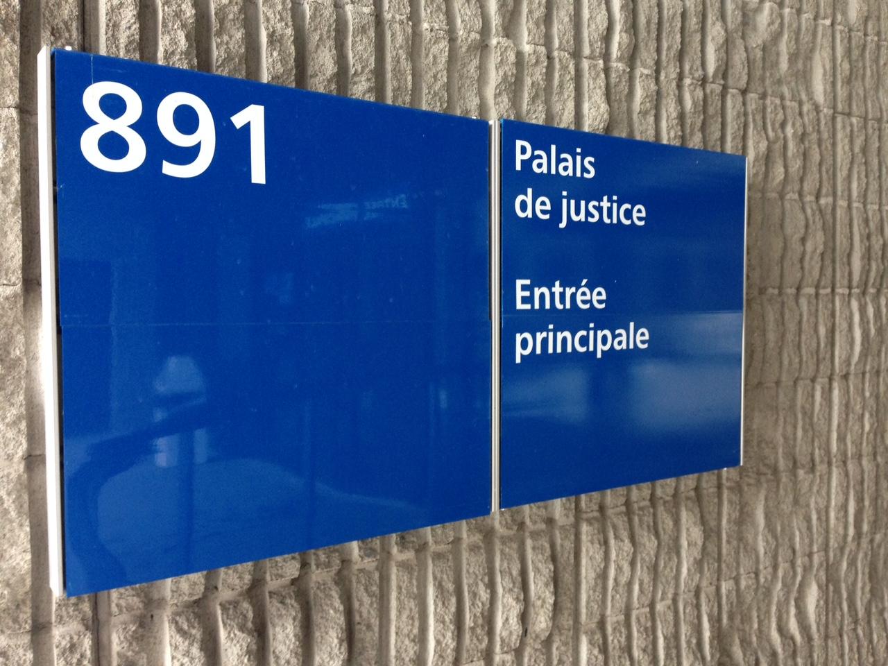 Palais justice Amos