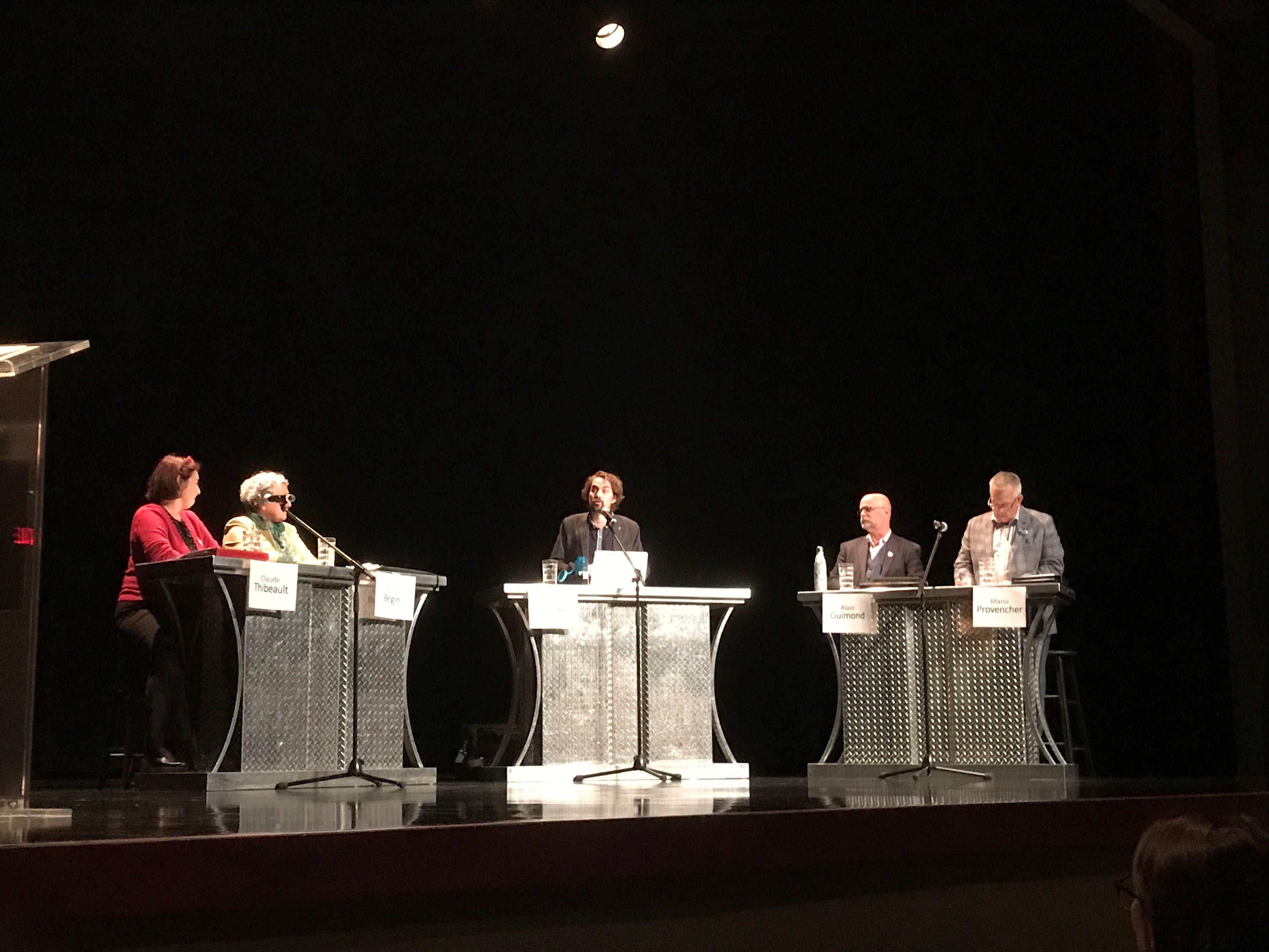 Débat élections fédérales 2019 Polyno La Sarre