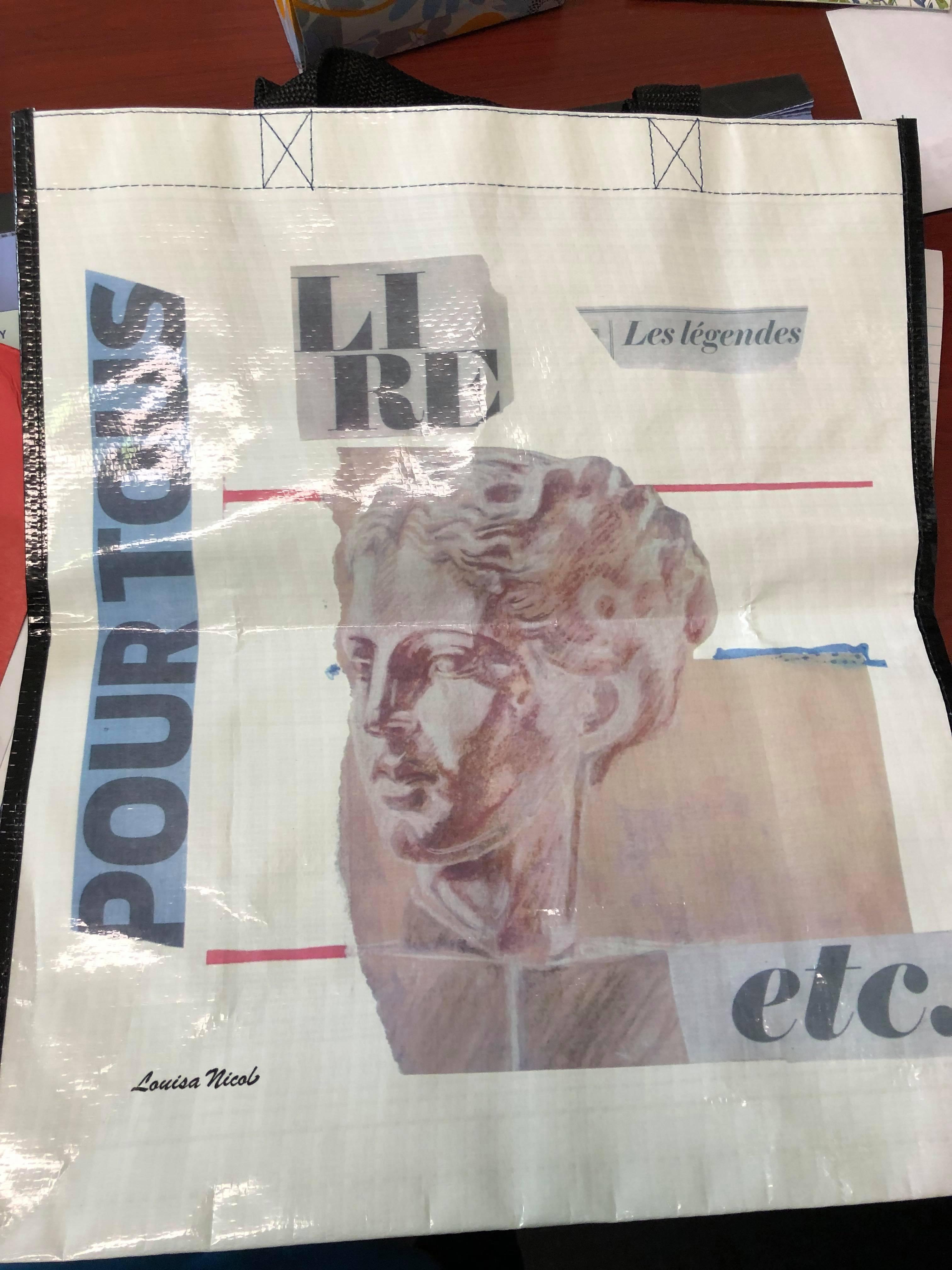 Lousia Nicol sac réutilisable