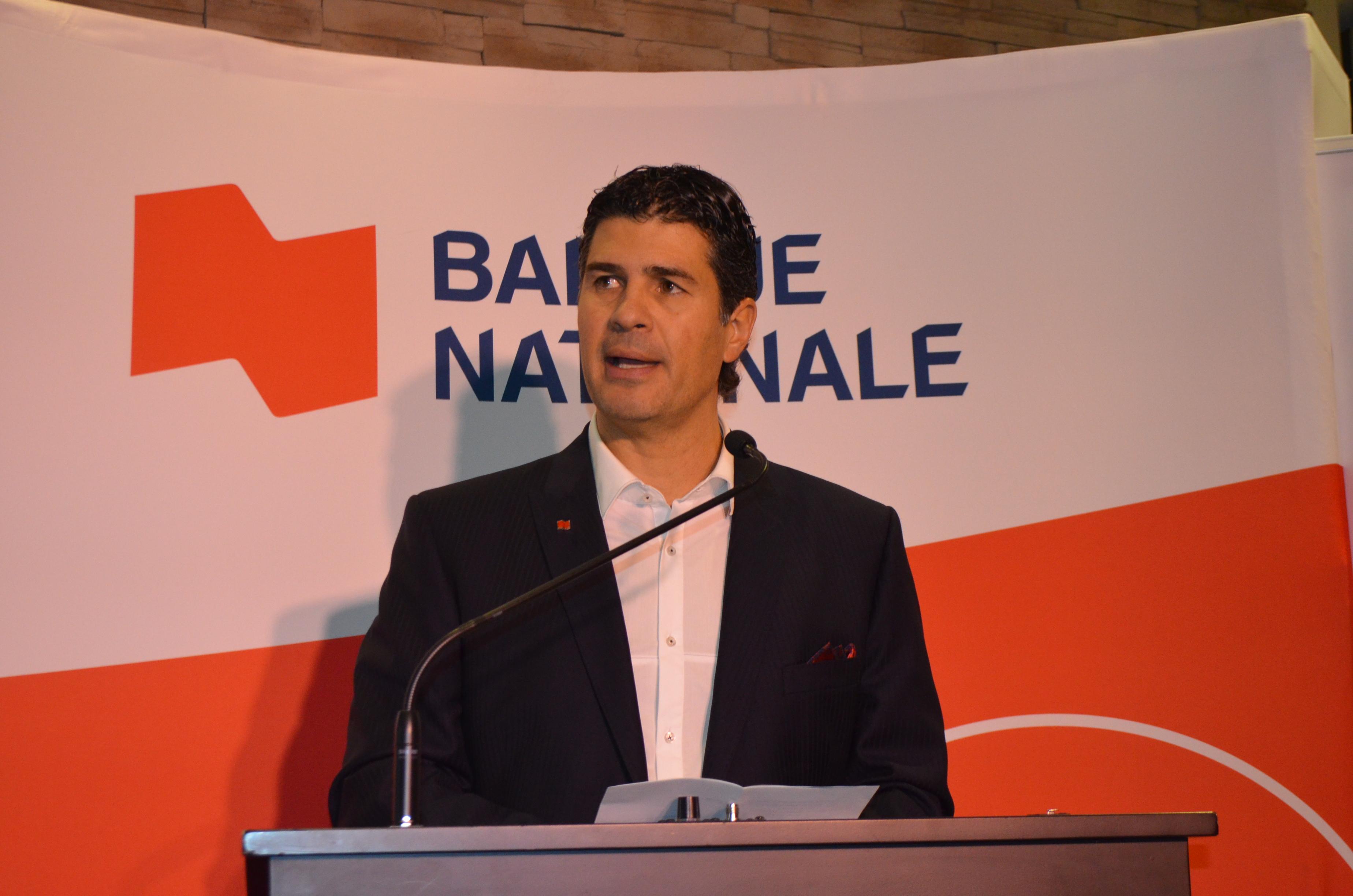 Louis Khalil, président de la campagne de dons majeurs de la Fondation du Centre Hospitalier régional de Rimouski.
