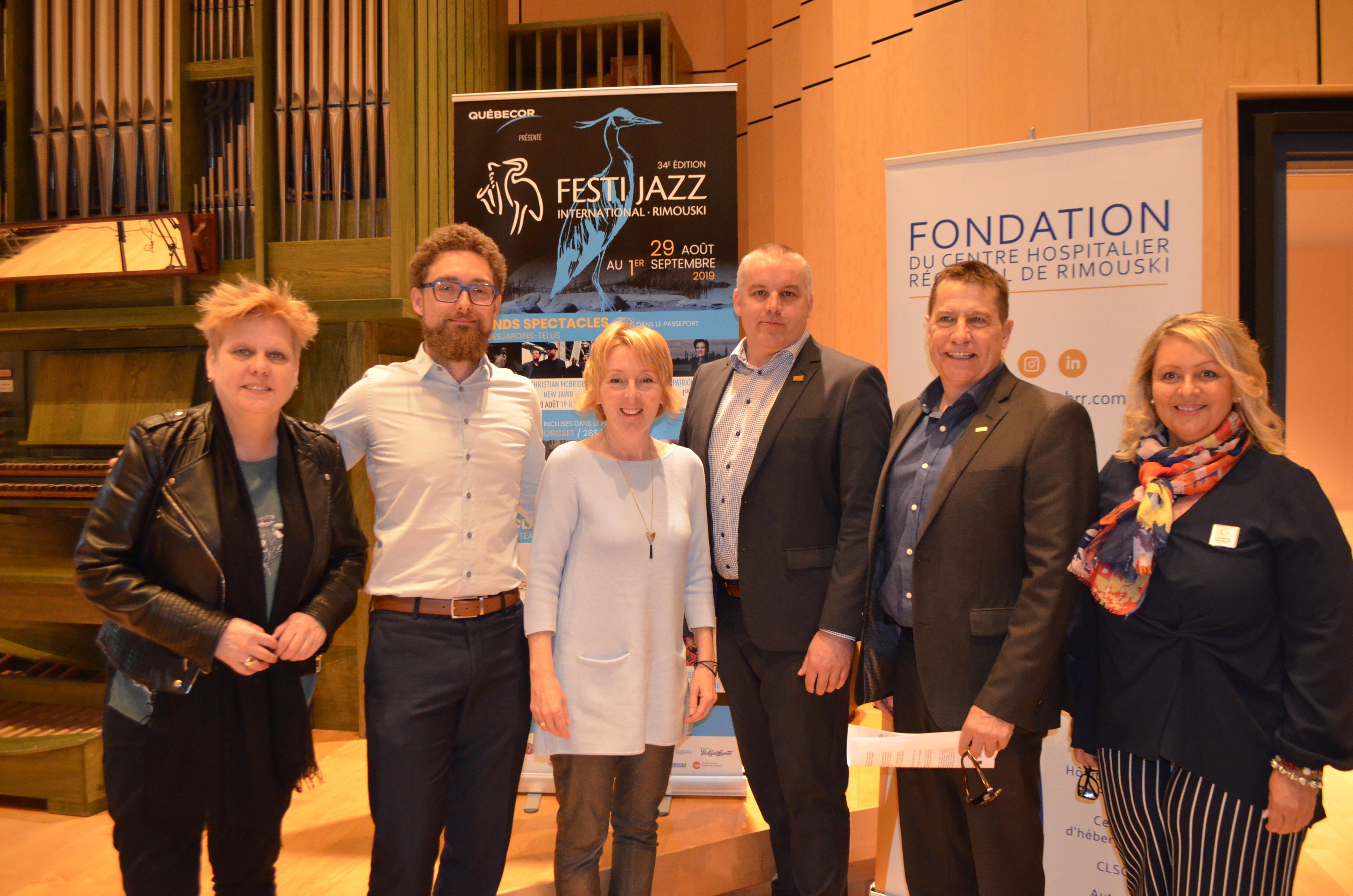 Présentation du Festi-Jazz 2019.