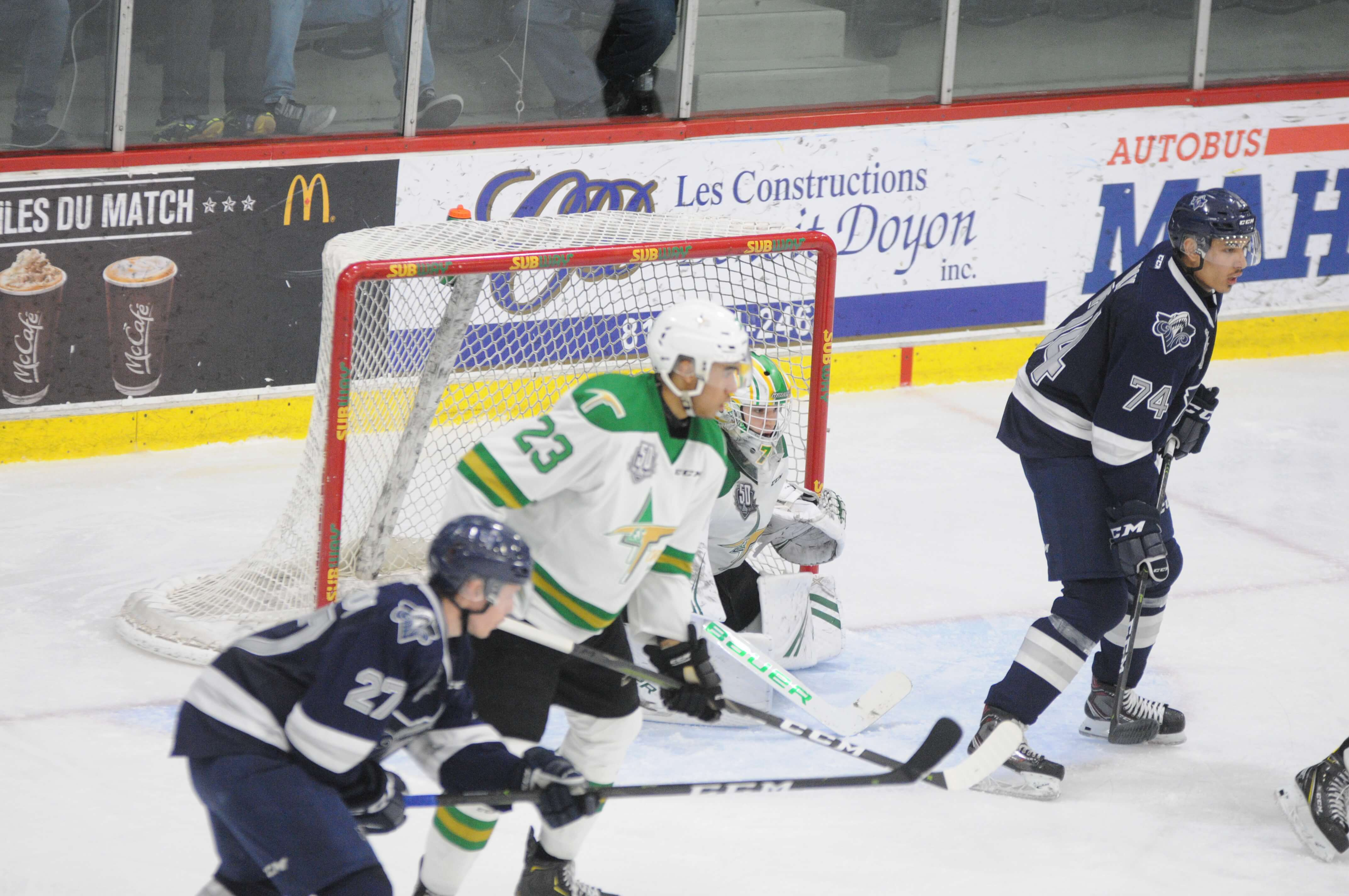 Foreurs Val-d'Or - Océanic Rimouski