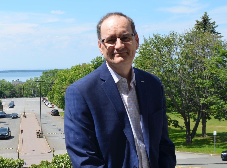 Jean-Pierre Ouellet, recteur de l'UQAR.