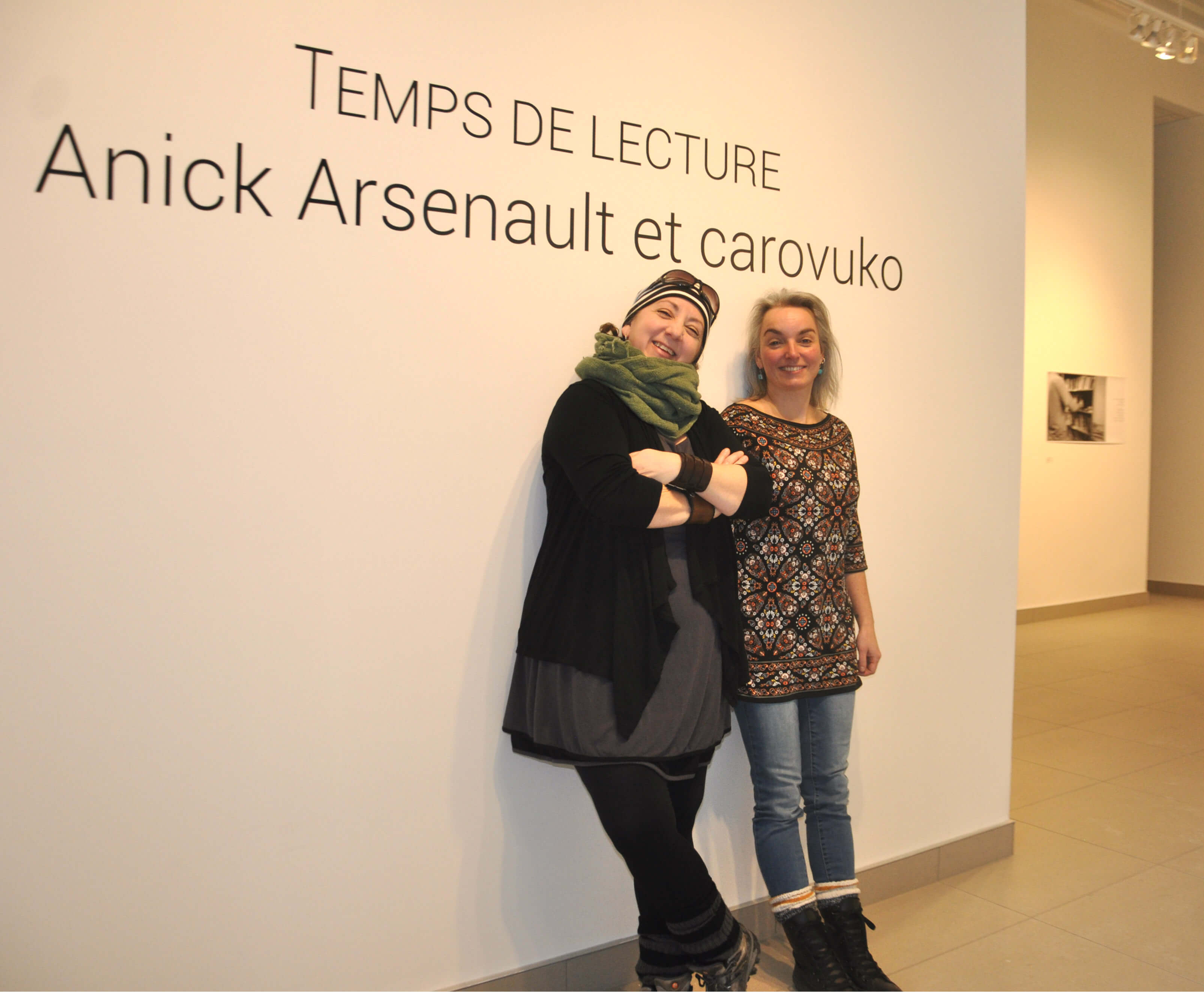 Caroline Vukovik et Annick Arsenault