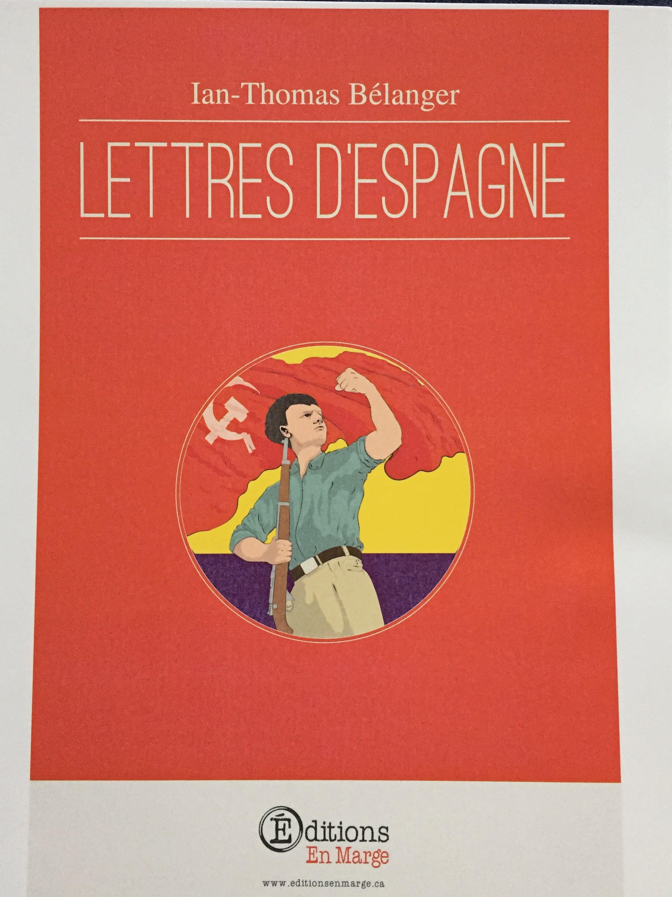 Bélanger Lettres d'Espagne