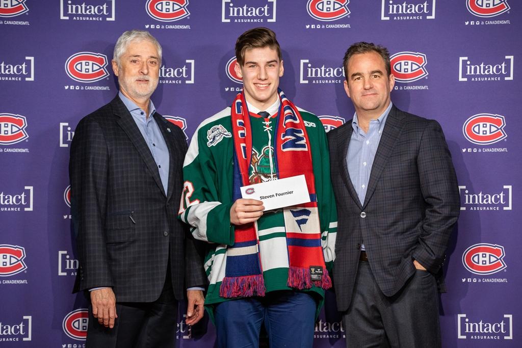 Steven Fournier bourse Canadiens