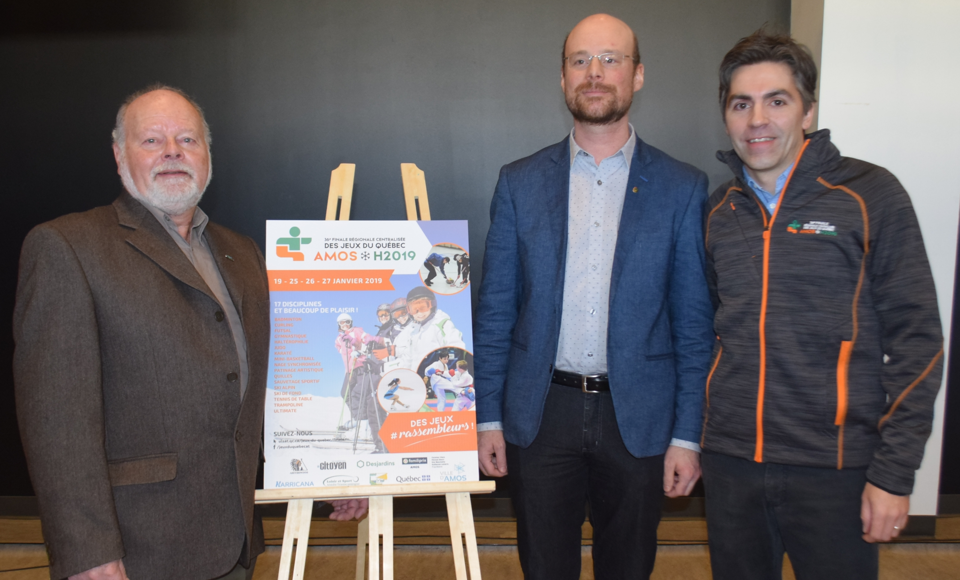 Jeux du Québec affiche