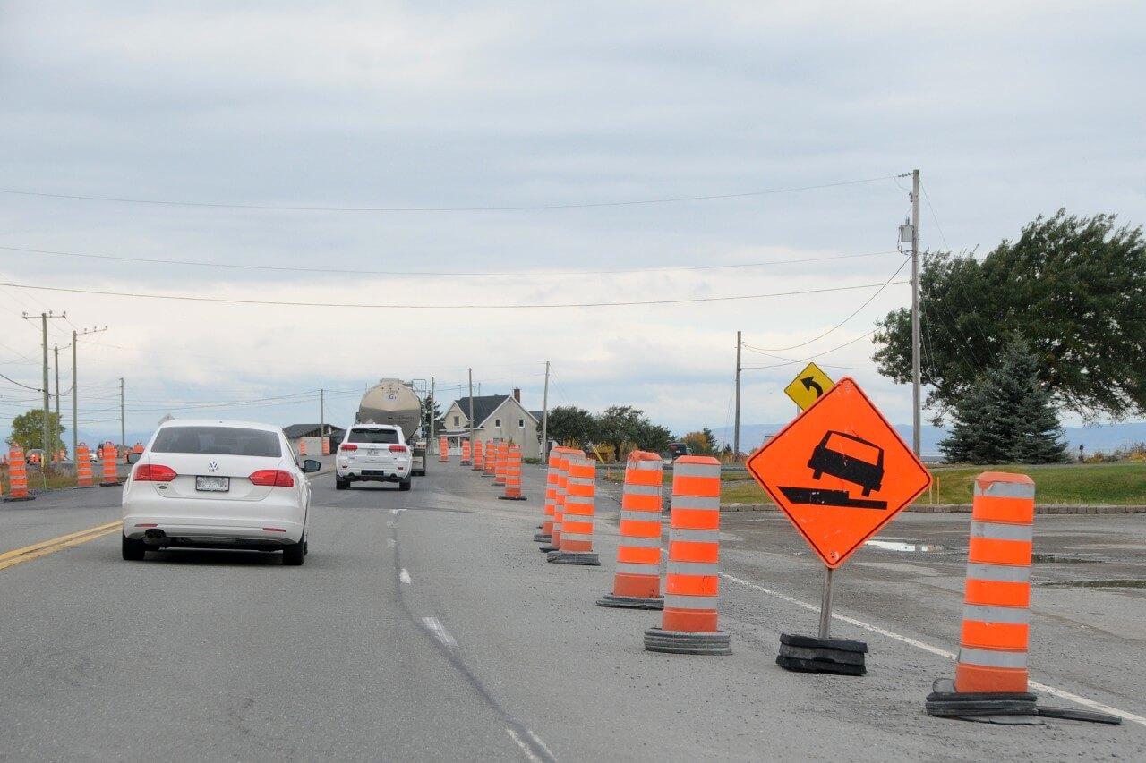 Plusieurs entraves sur les routes 132 et 234