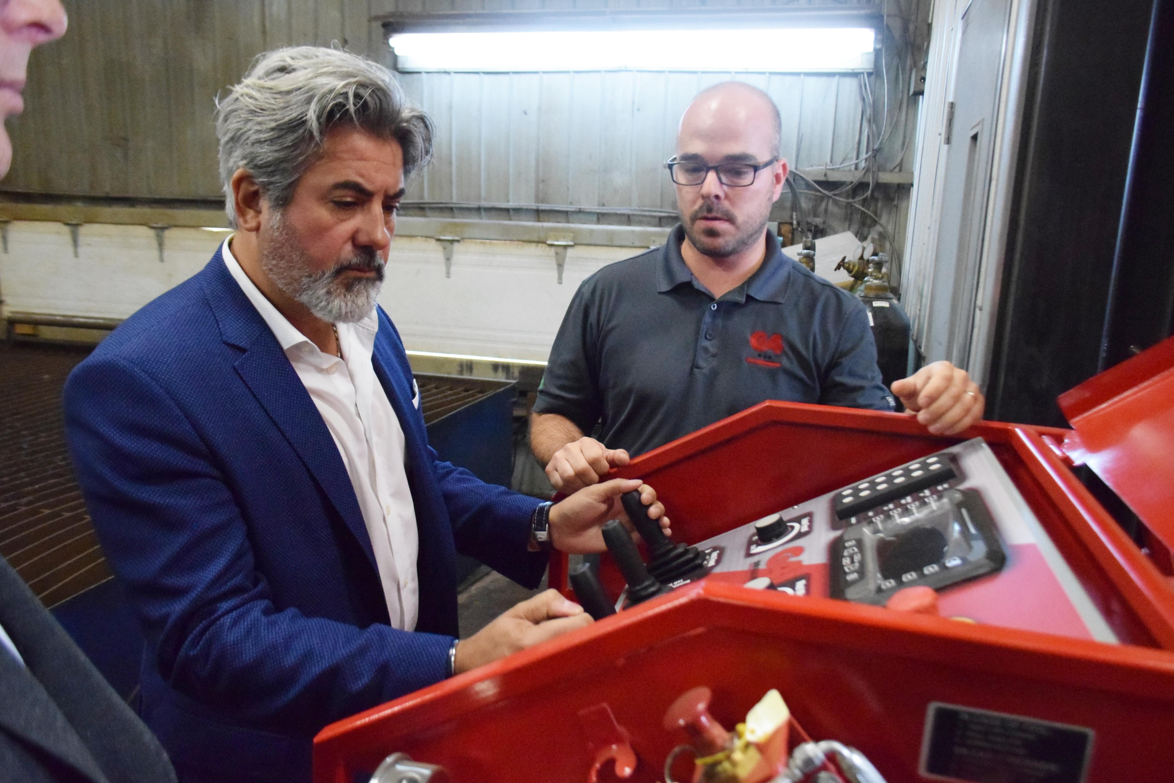 G4RD Pablo Rodriguez machine