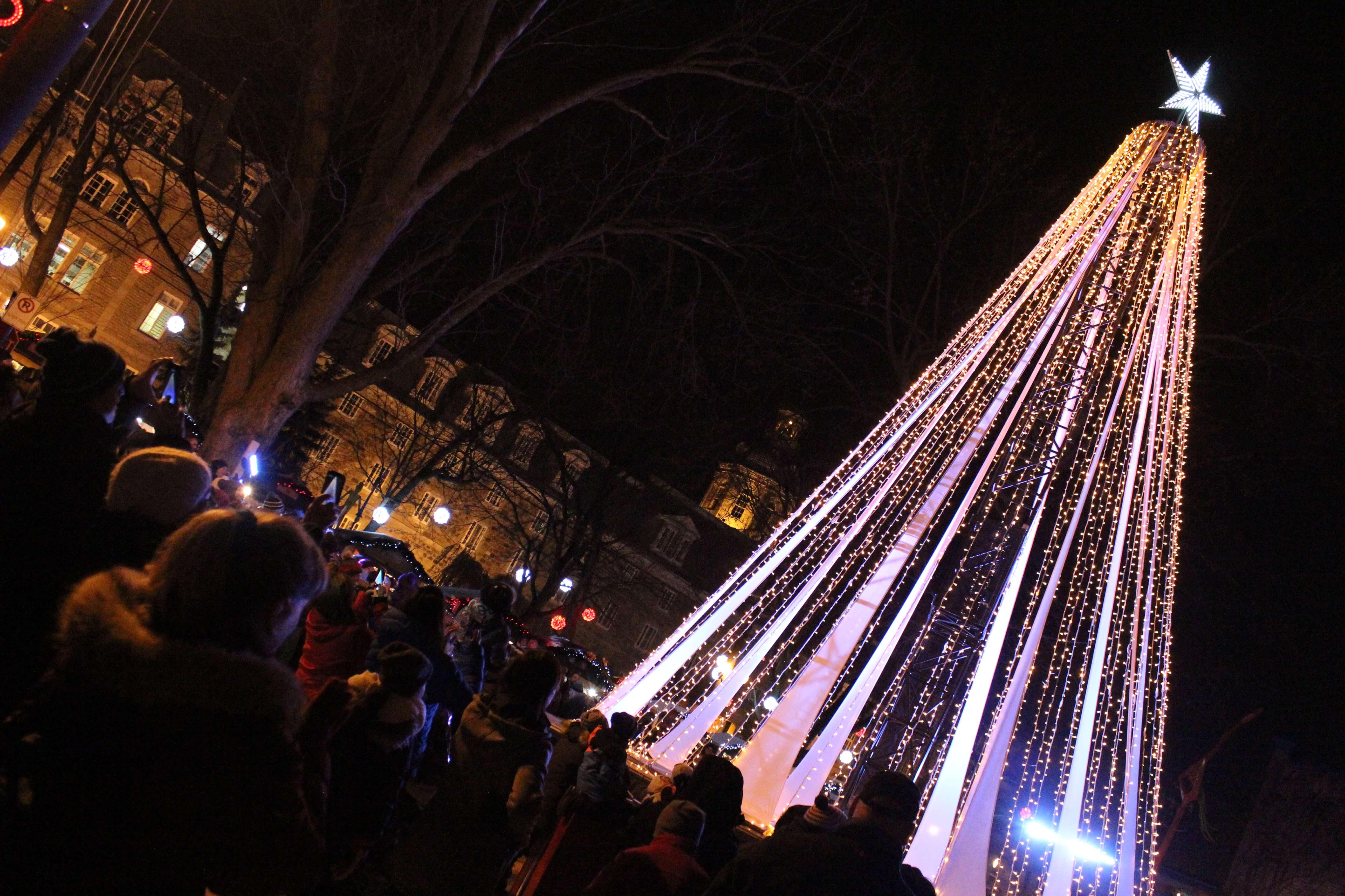 Sapin L'Assomption Marché de Noël