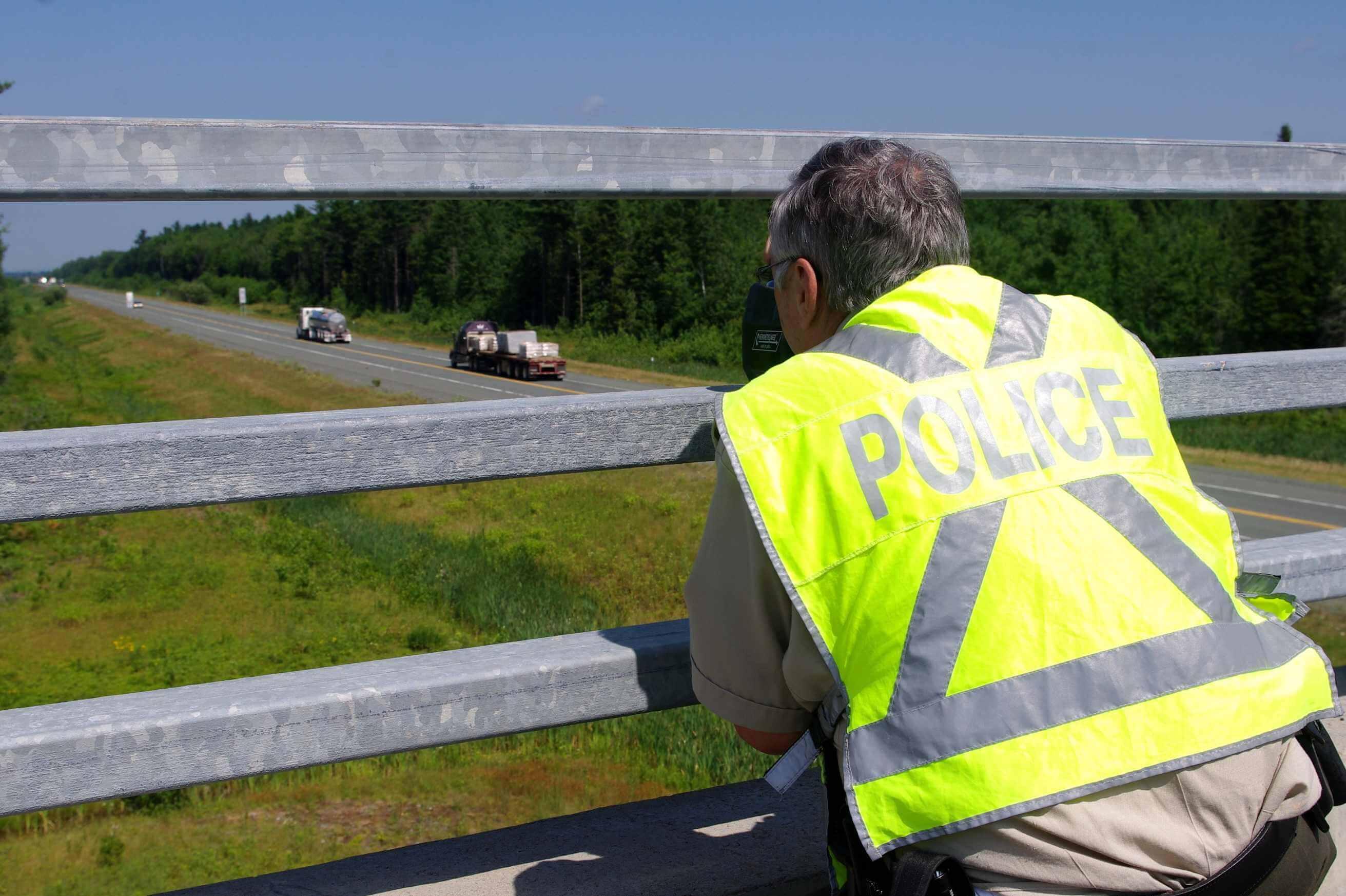 Chaque année, la Sûreté du Québec intensifie sa présence sur les routes lors de la fête nationale et de la fête du Canada.