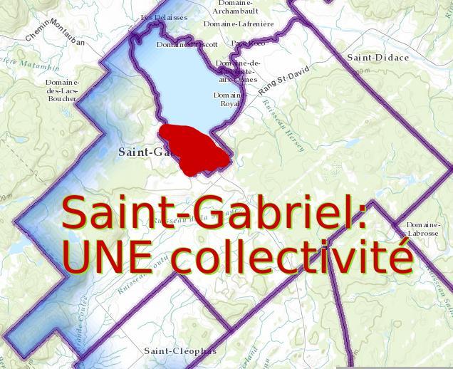carte Saint-Gabriel