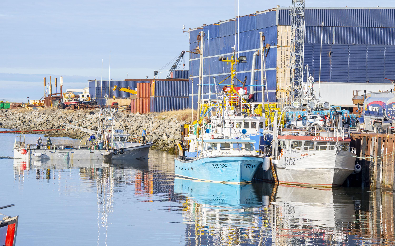 Bateau de pêche Matane port de mer
