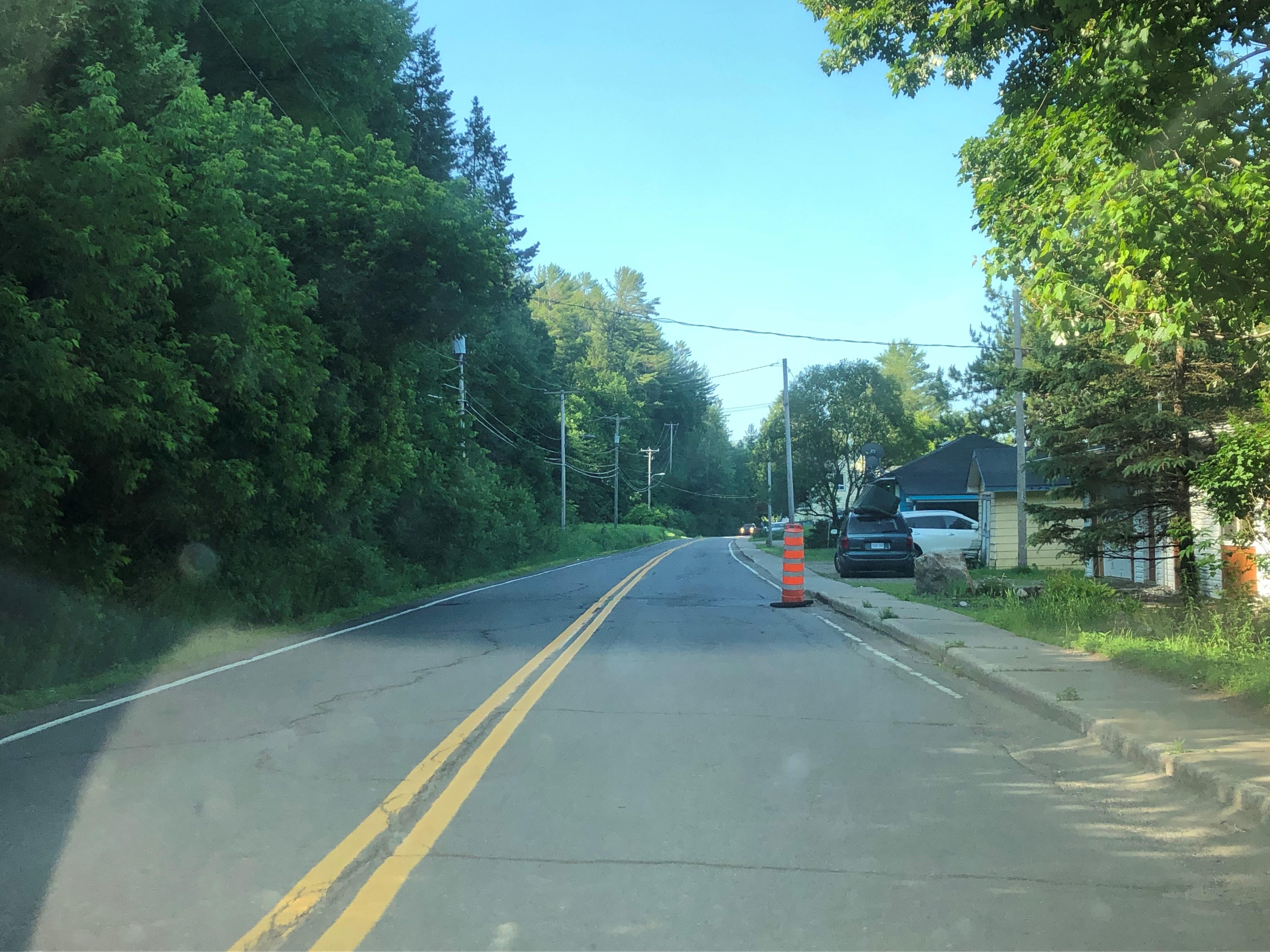Route 309 à Val-des-Bois