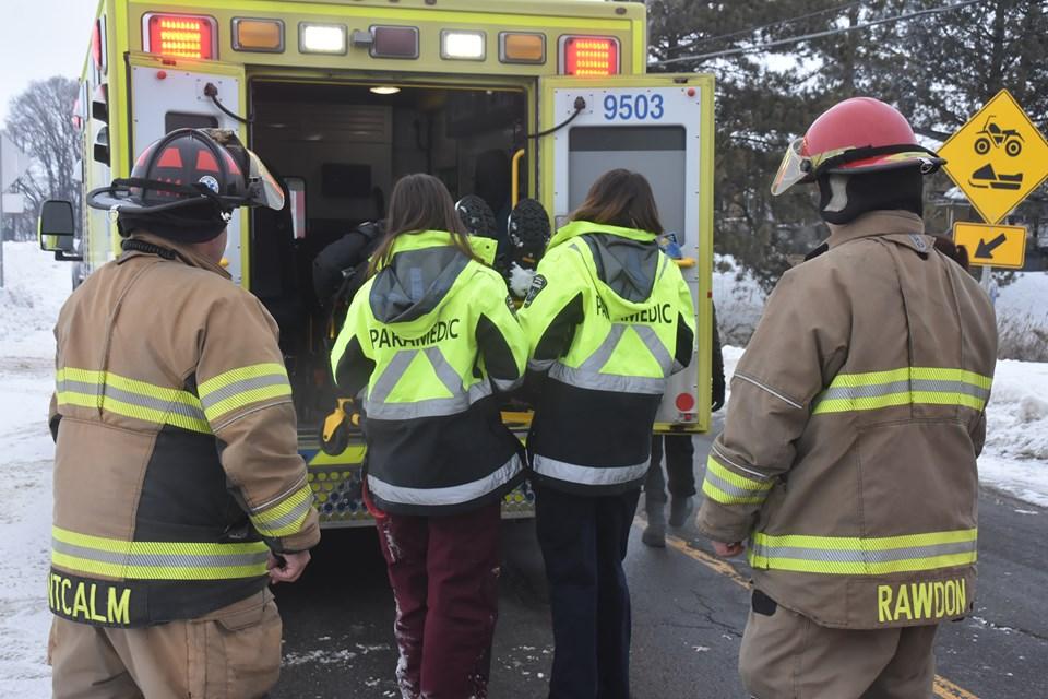 Accident motoneige Saint-Roch-de-l'Achigan