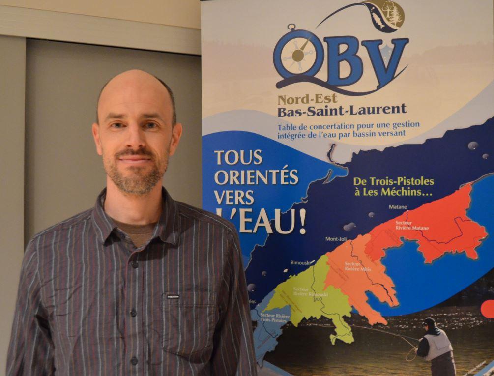 Simon Tweddell, directeur général de l'OBVNEBSL.