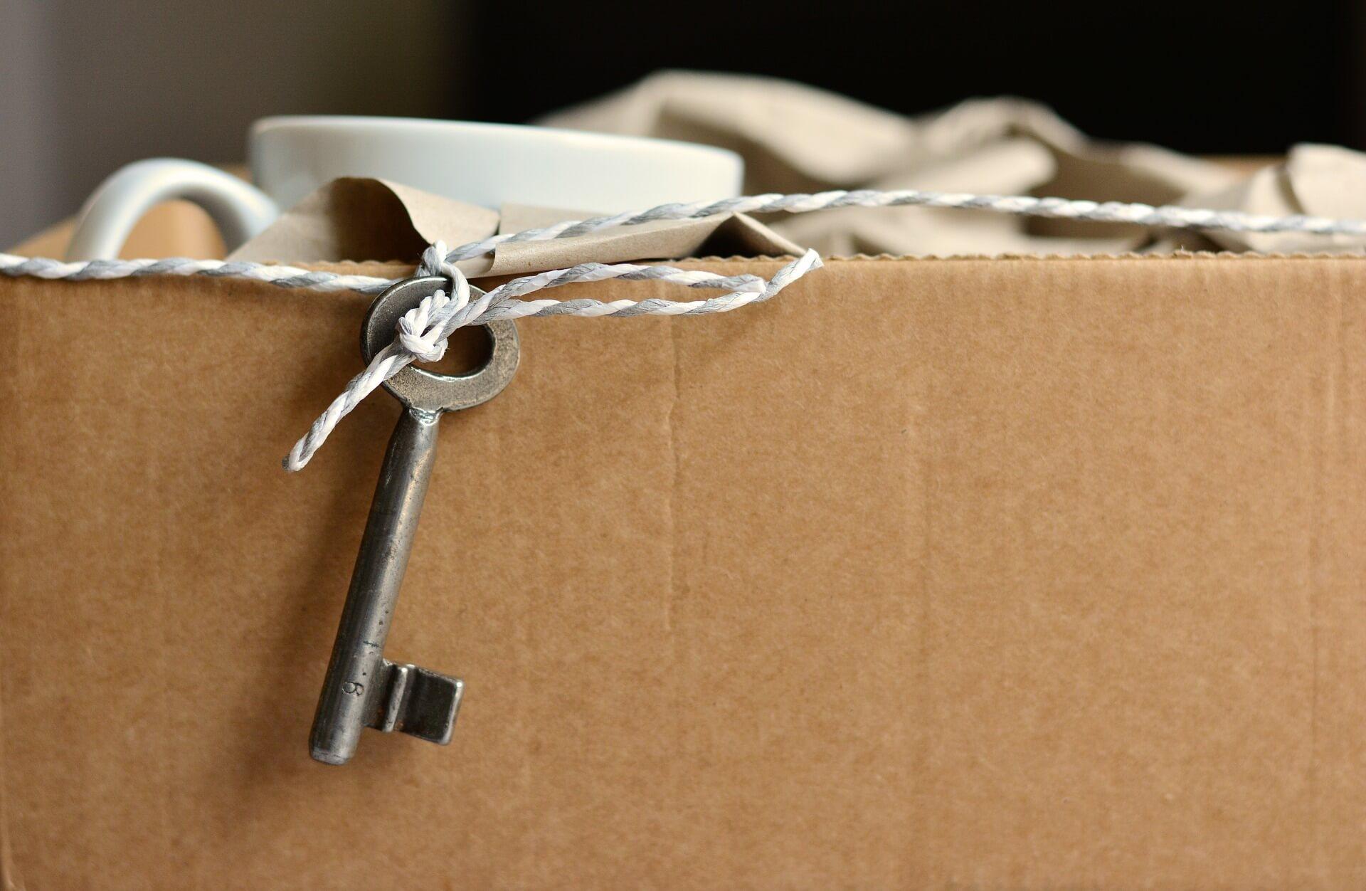 Déménagement boîte clé