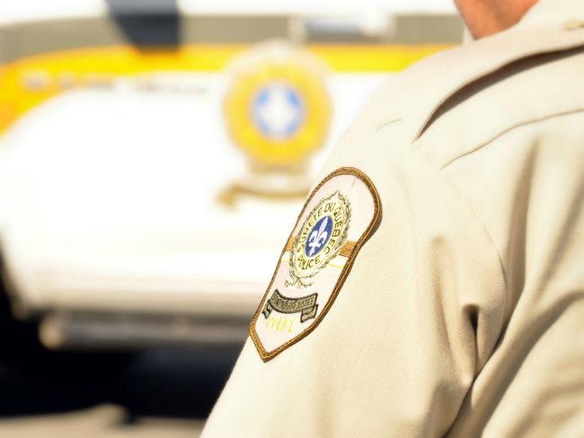 Sûreté du Québec Policier