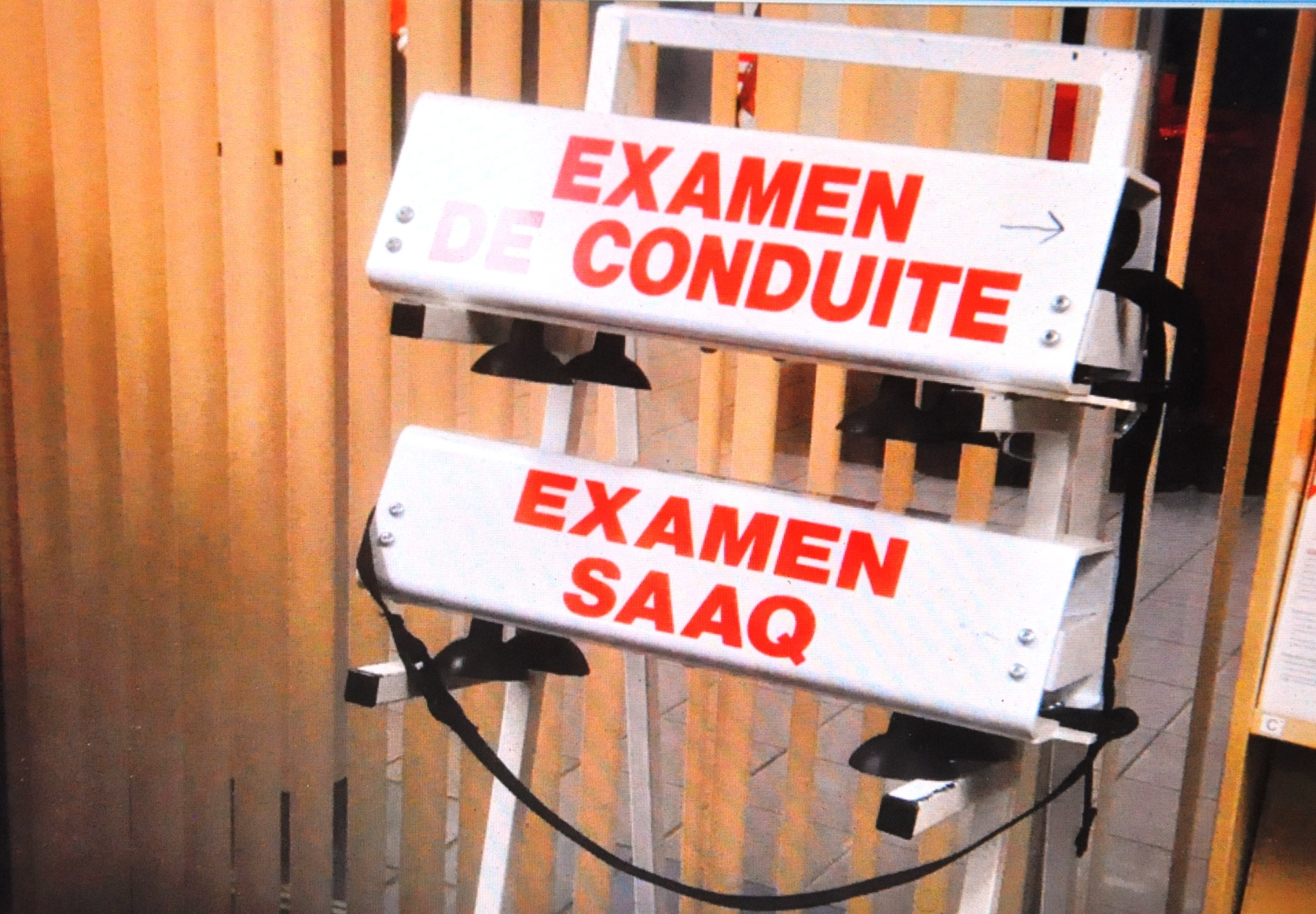 Examen conduite