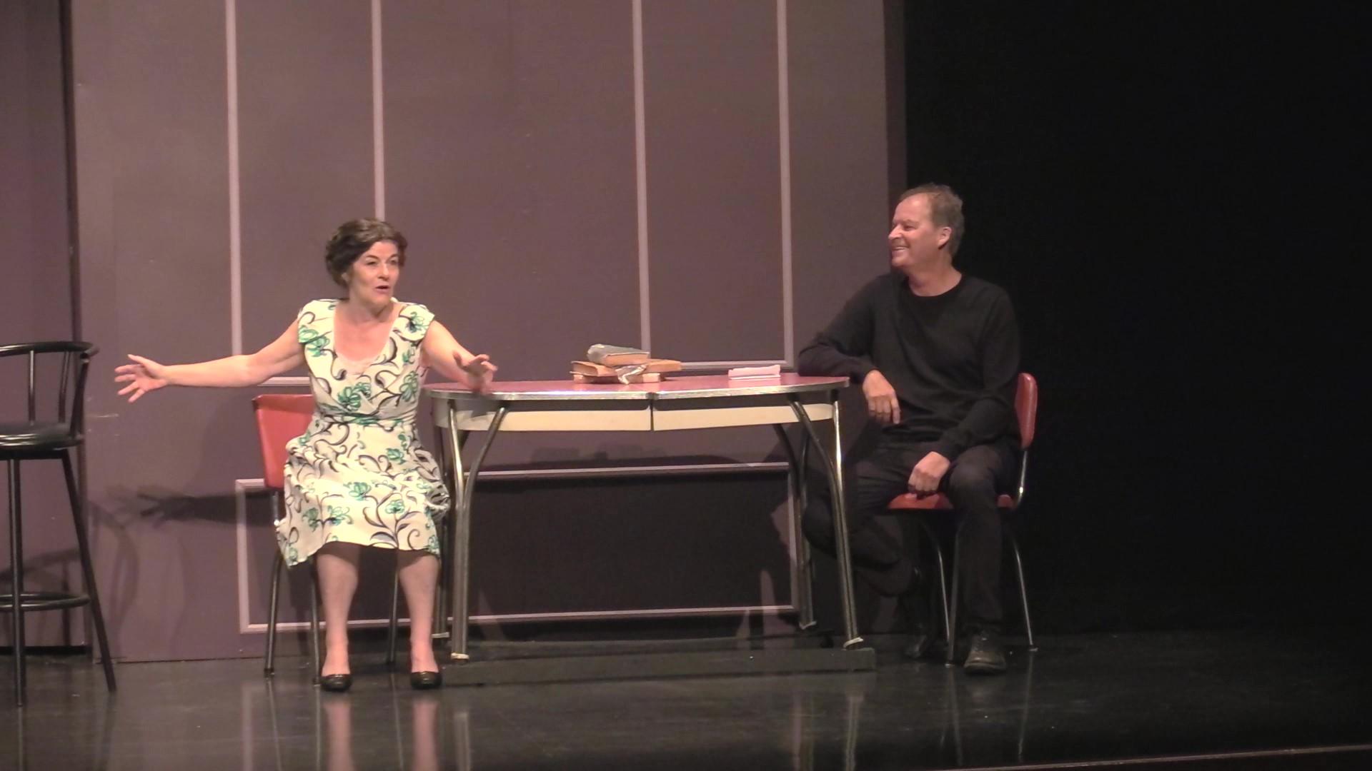 Lyne Rochette et Donald Renaul Troupe à cœur ouvert