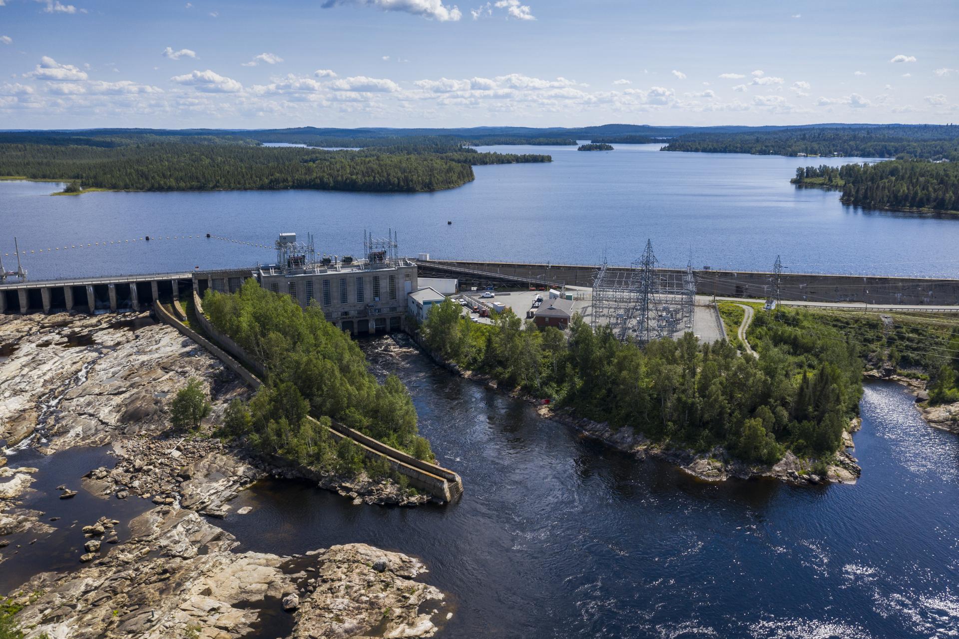 Hydro-Québec Rapide-7 Rouyn-Noranda Abitibi-Témiscamingue