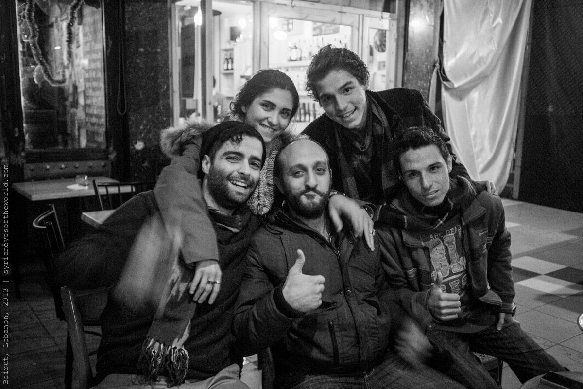 Les Syriens du monde en photo