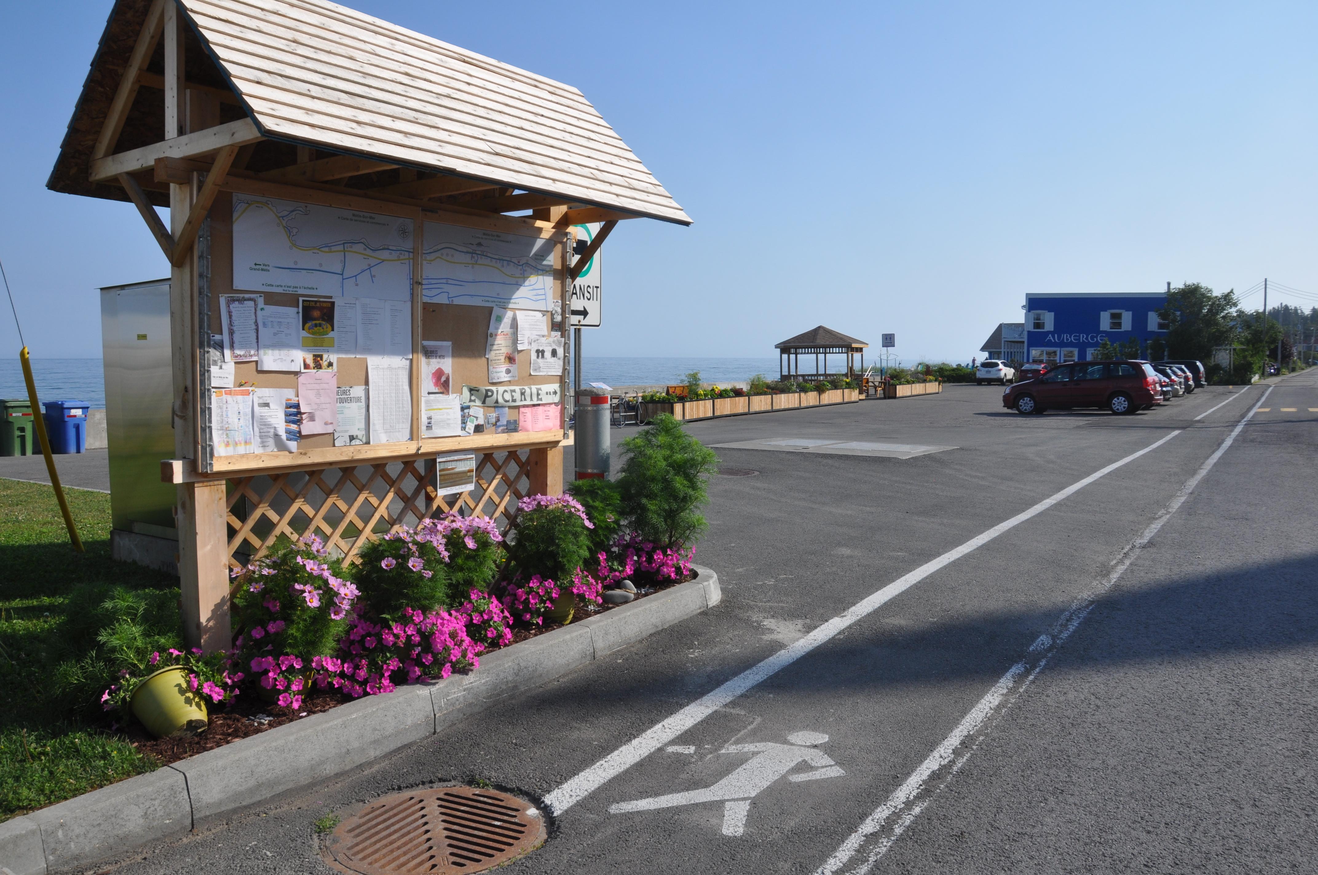 Halte routière Métis-sur-Mer