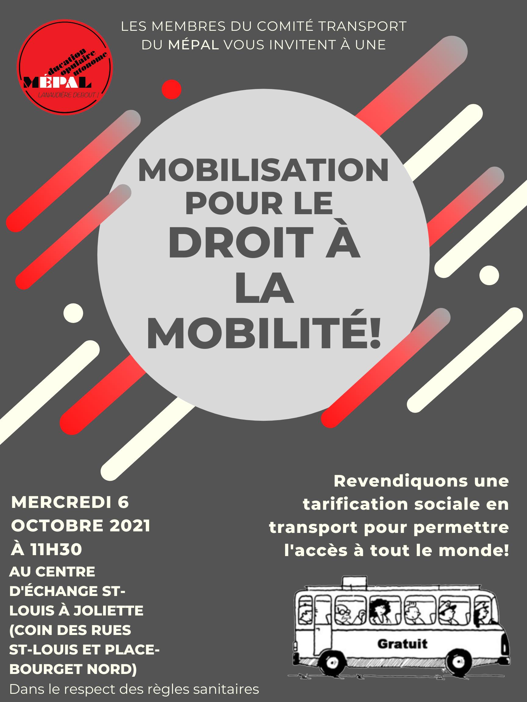 Mobilisation Transport