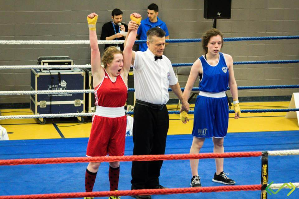 Jeux du Québec boxe
