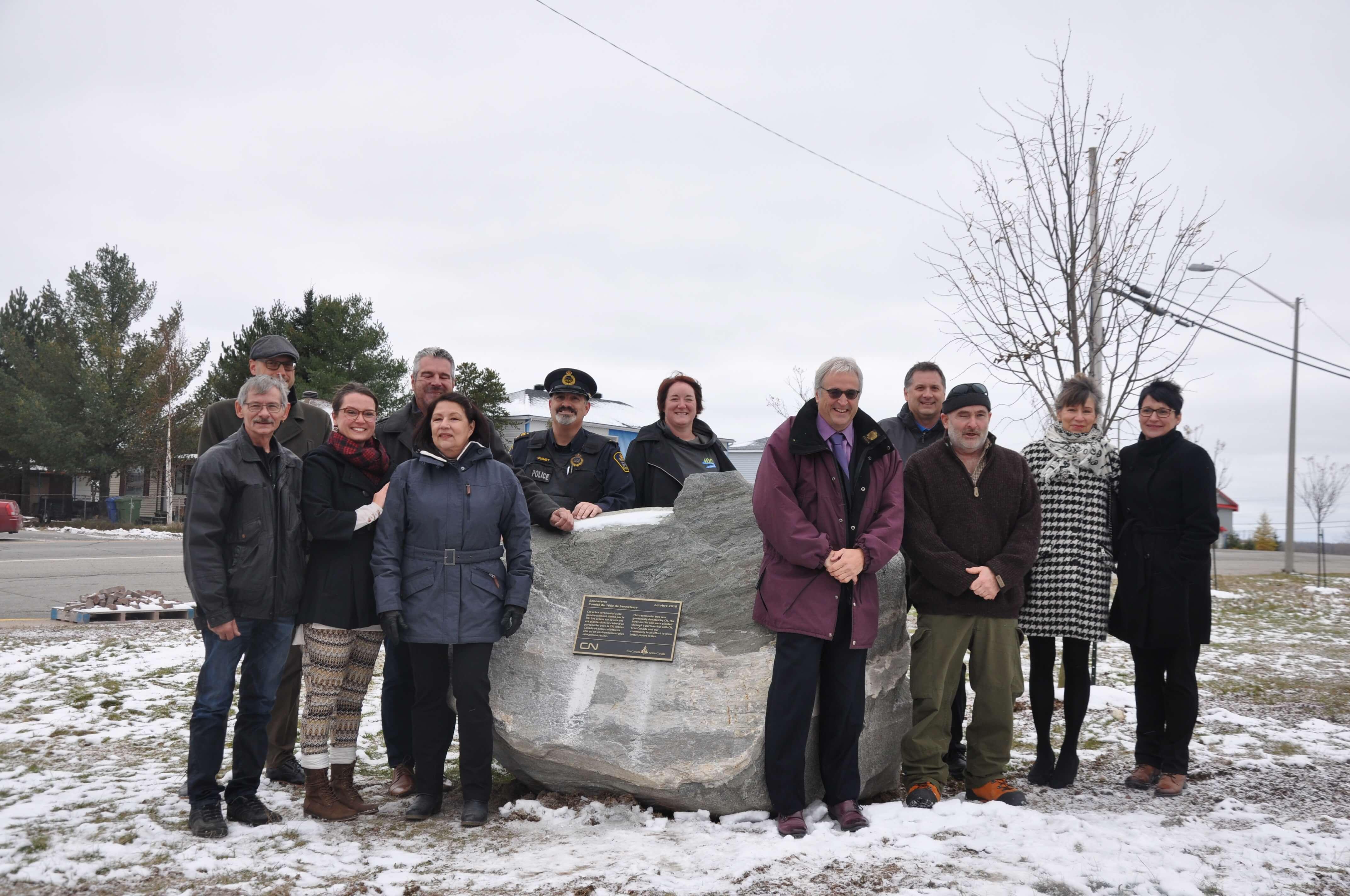 Forêt du 100e Senneterre Anniversaire 2018 Municipalité Abitibi-Témiscamingue