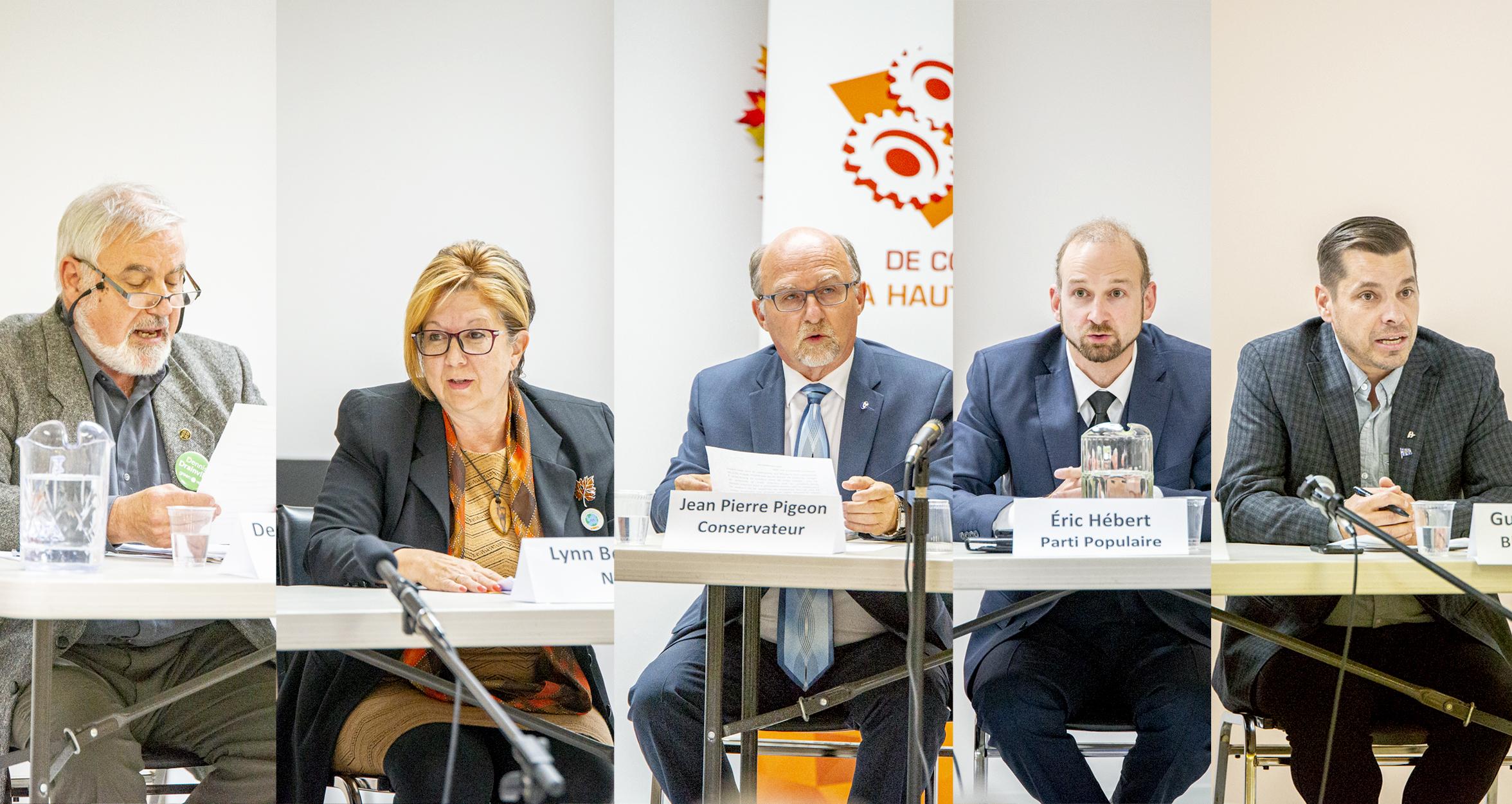 Débat élections fédérales 2019 Gaspésie