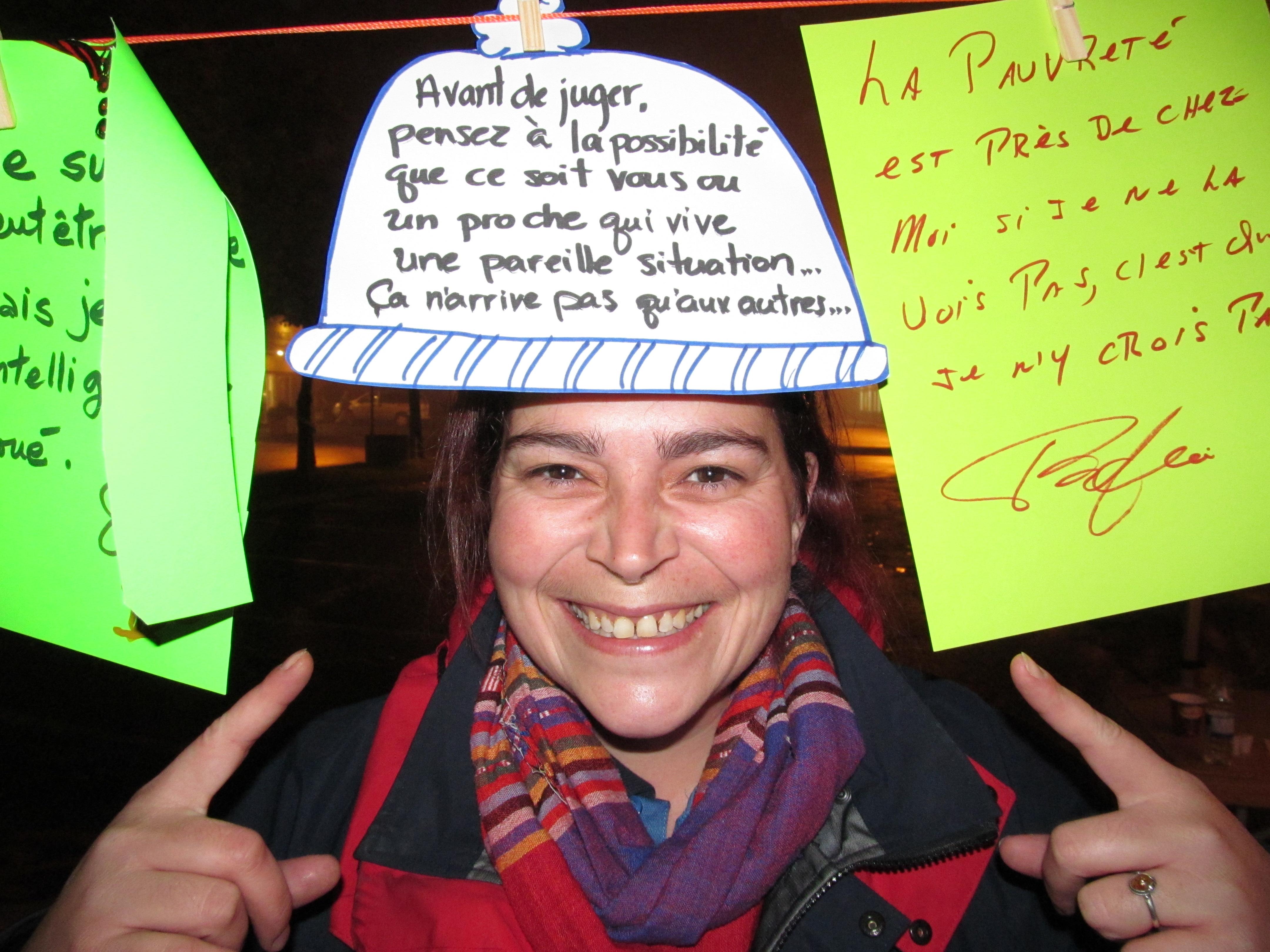 La directrice des services à la Maison de l'Espoir, Karine Ouellet, invite la population à la 8e Nuit des sans-abri de Mont-Joli.