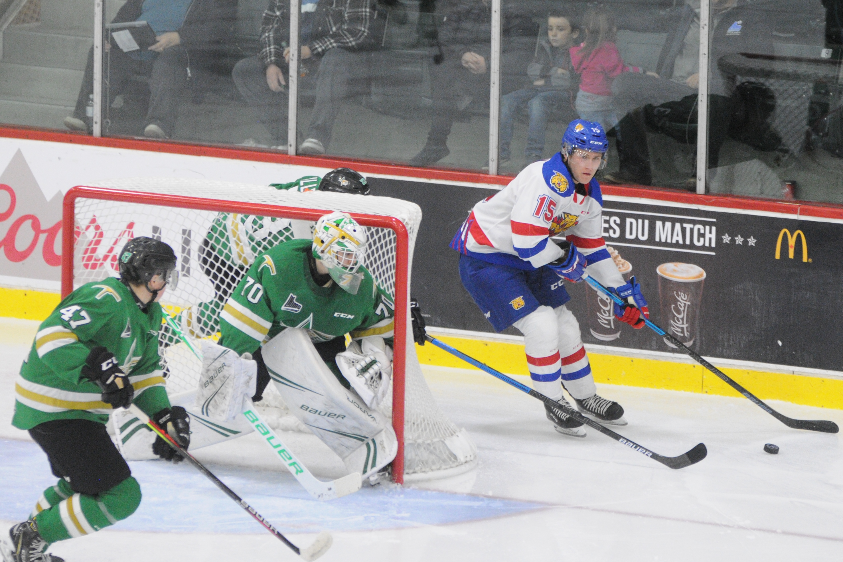 Wildcats Moncton - Foreurs Val-d'Or