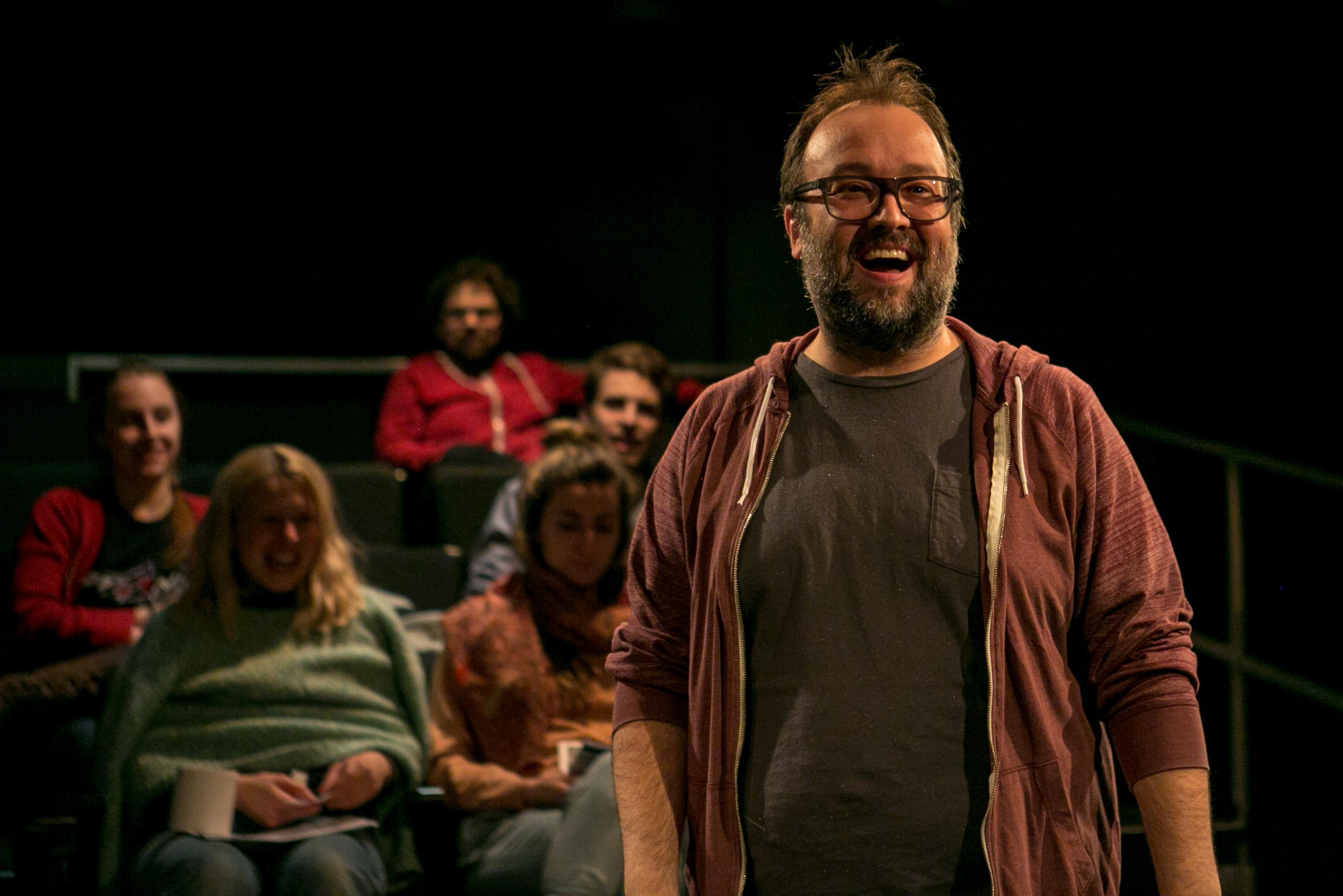 Une performance magistrale du comédien Jonathan Gagnon. Une production du Théâtre de Passage.